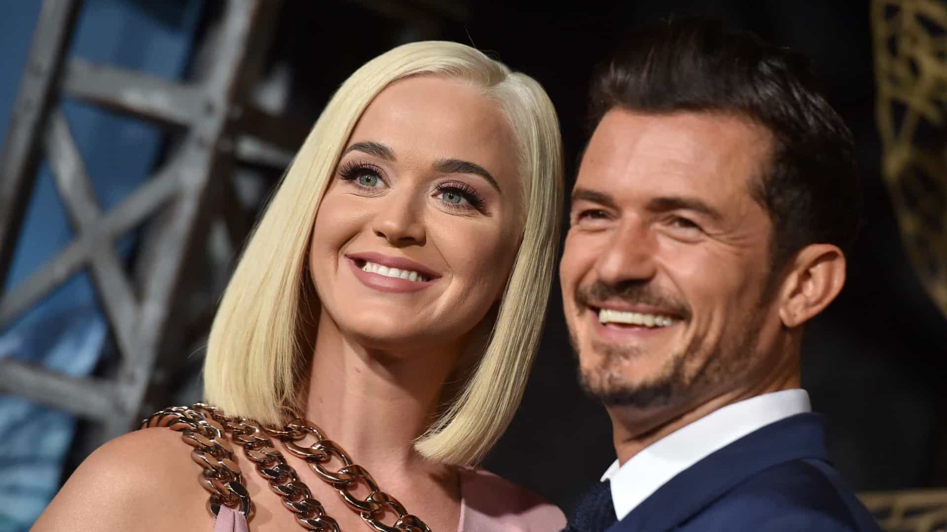 Katy Perry e Orlando Bloom revelam o sexo do bebê