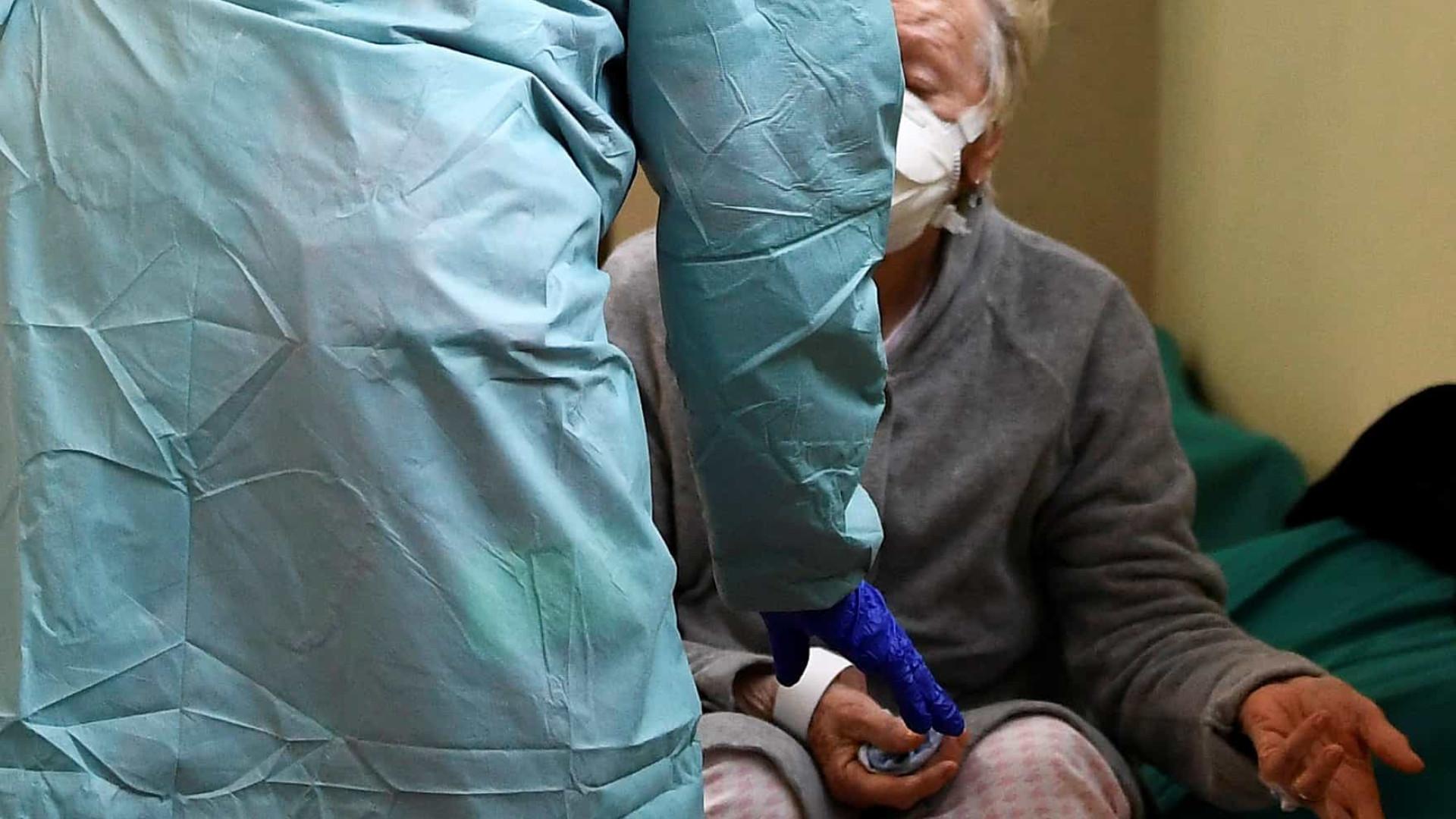 Covid-19: Surto faz 20 mortos em lar de idosos no leste da França