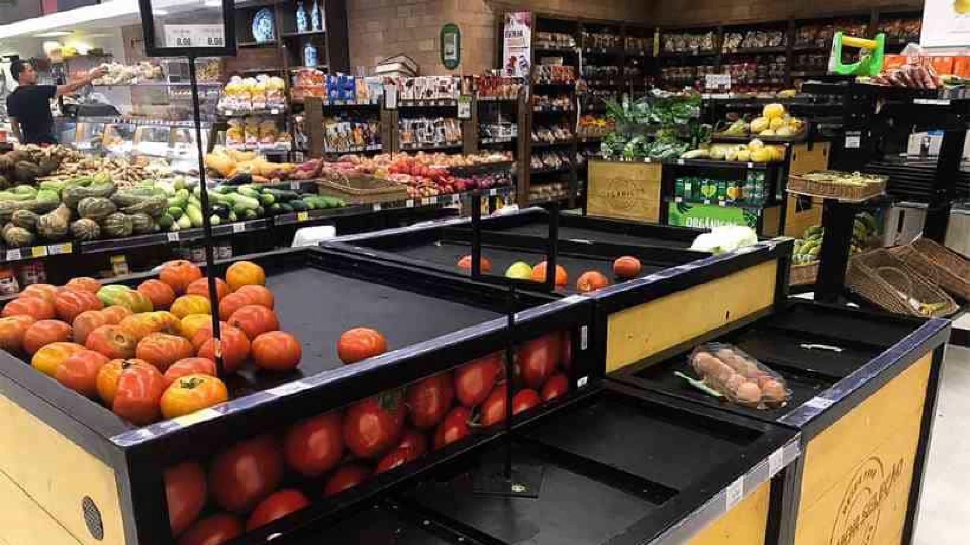 Covid-19: Supermercados já têm redução de produtos nas prateleiras