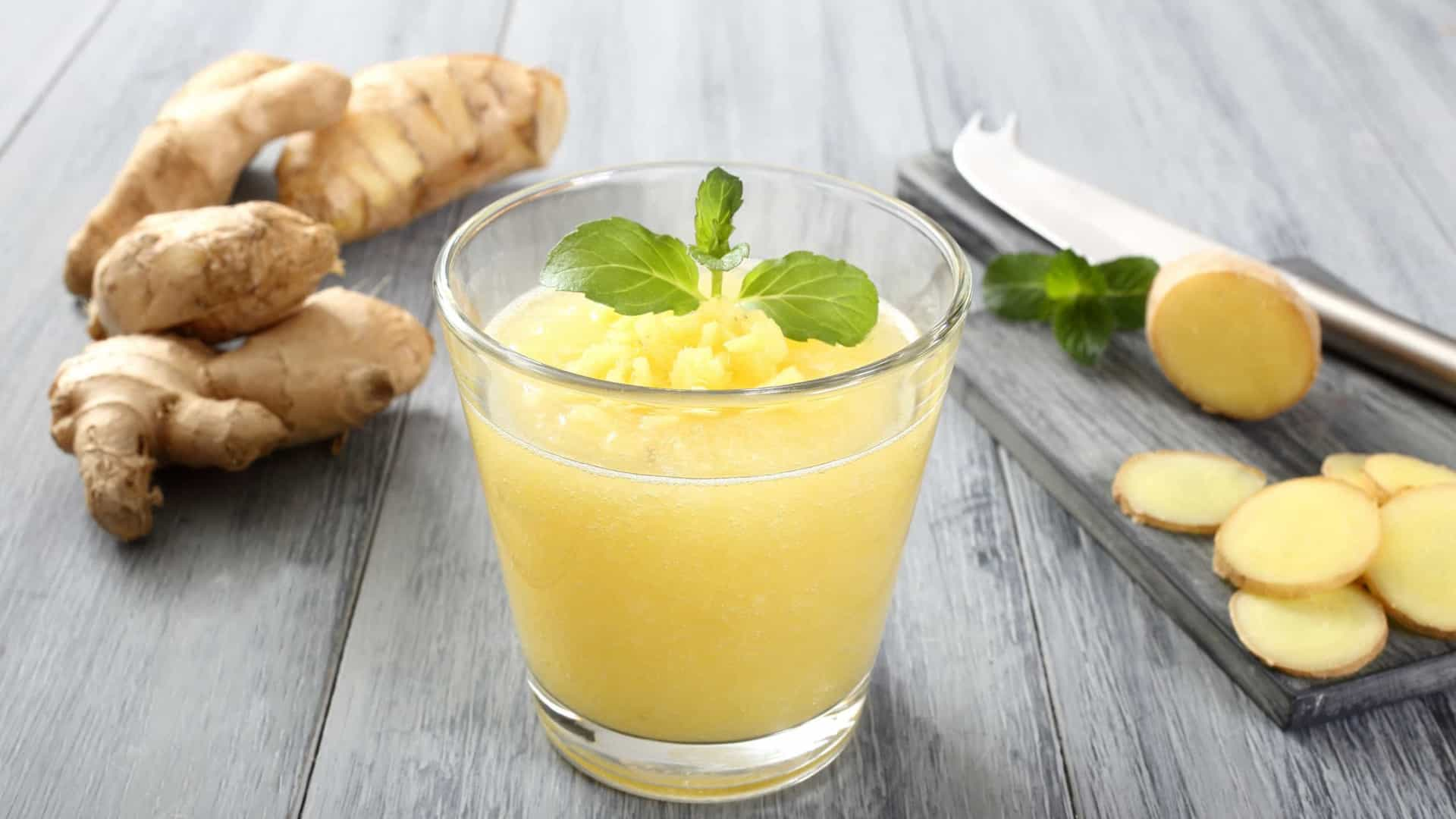 Beba este suco de gengibre termogénico e perca peso (já!)