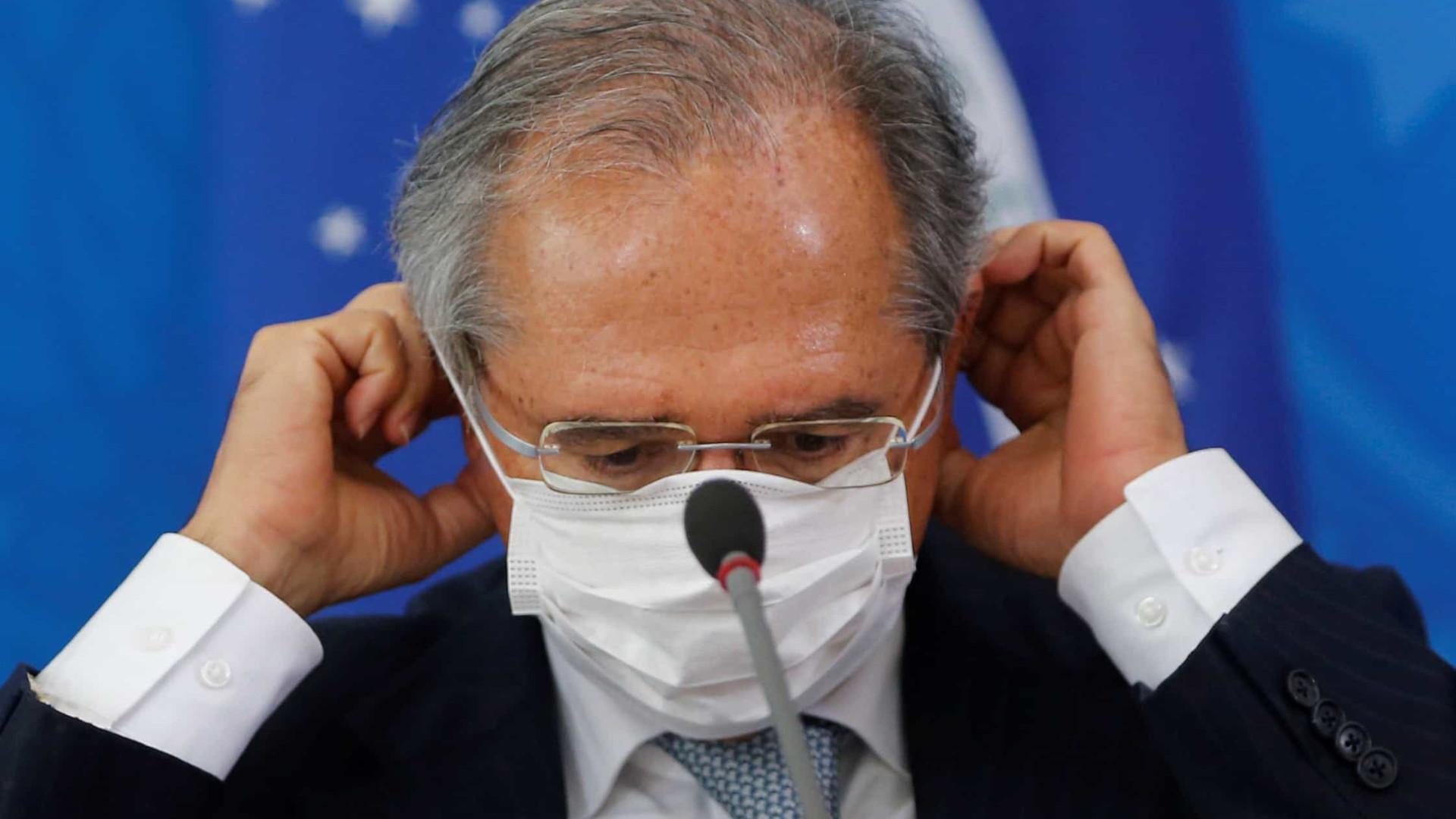 Teste de coronavírus de ministro Paulo Guedes deu negativo