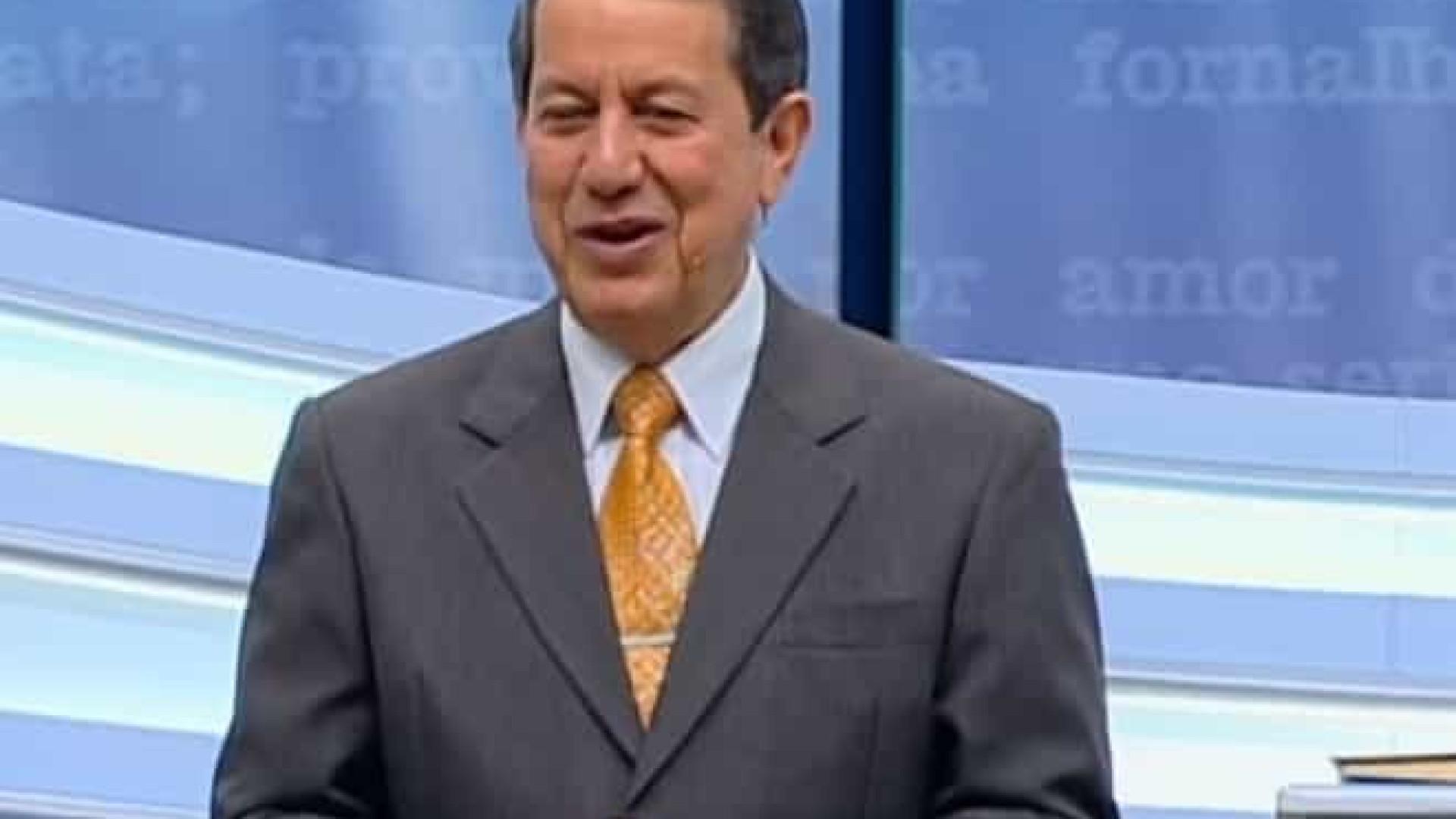 Pastor R. R Soares é intubado no Rio, após complicações da Covid-19