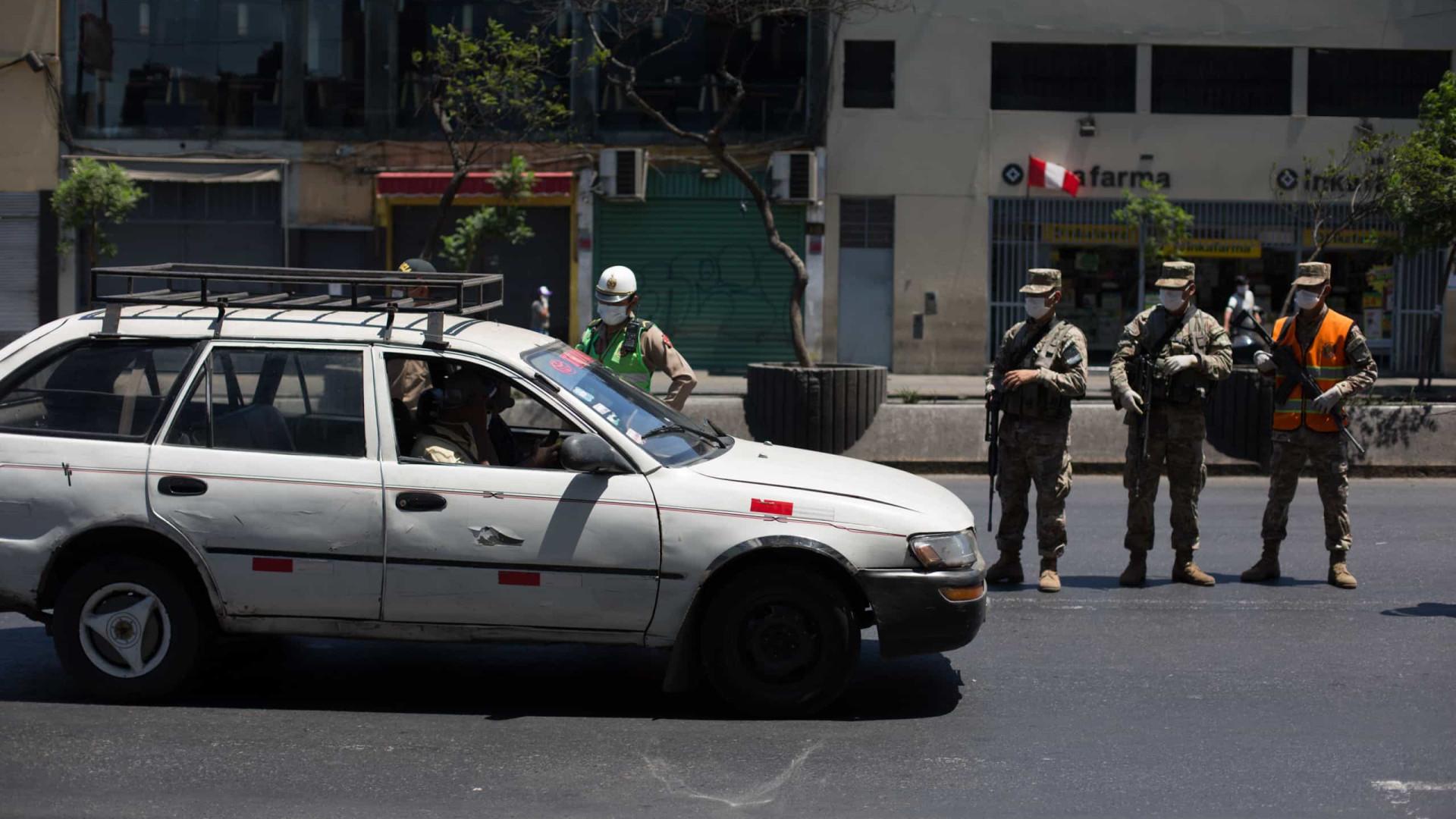Peru: Mais de 16 mil pessoas presas por ignorarem distanciamento social