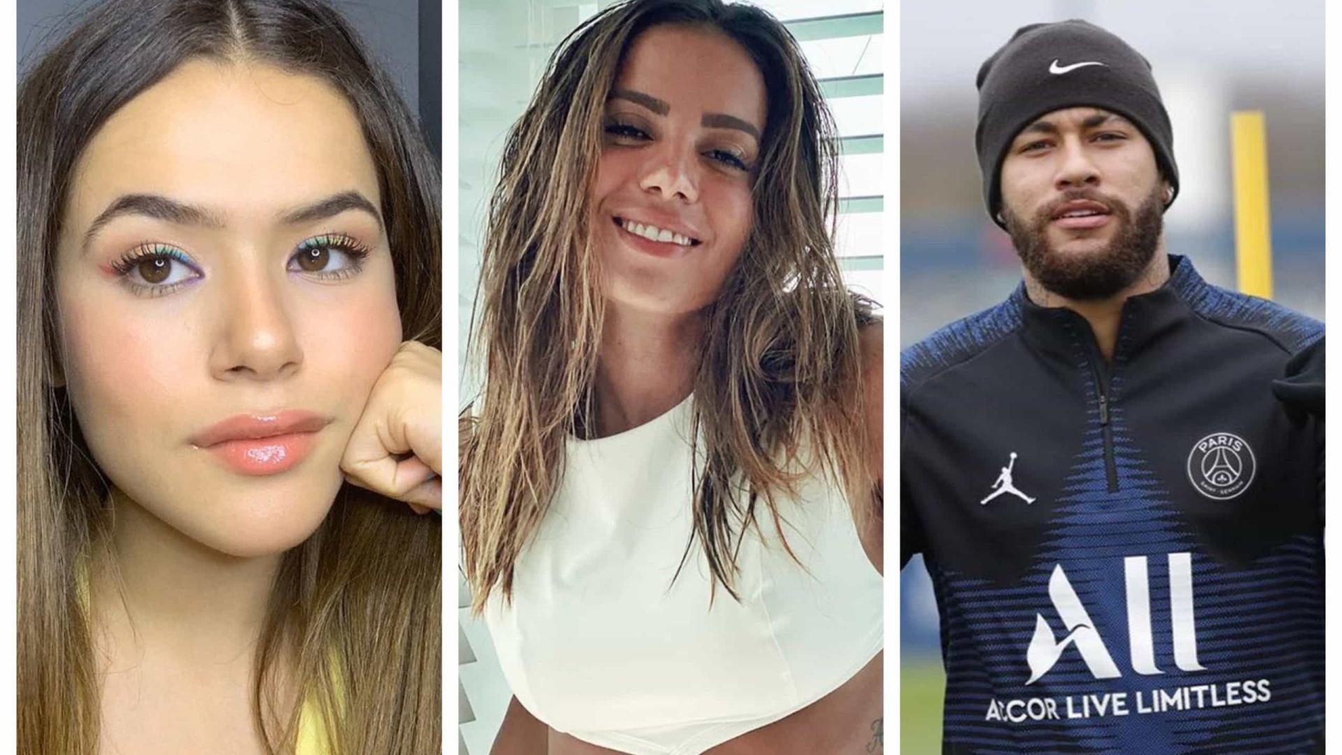 Maisa, Anitta e Neymar fazem vídeo para mostrar união na quarentena