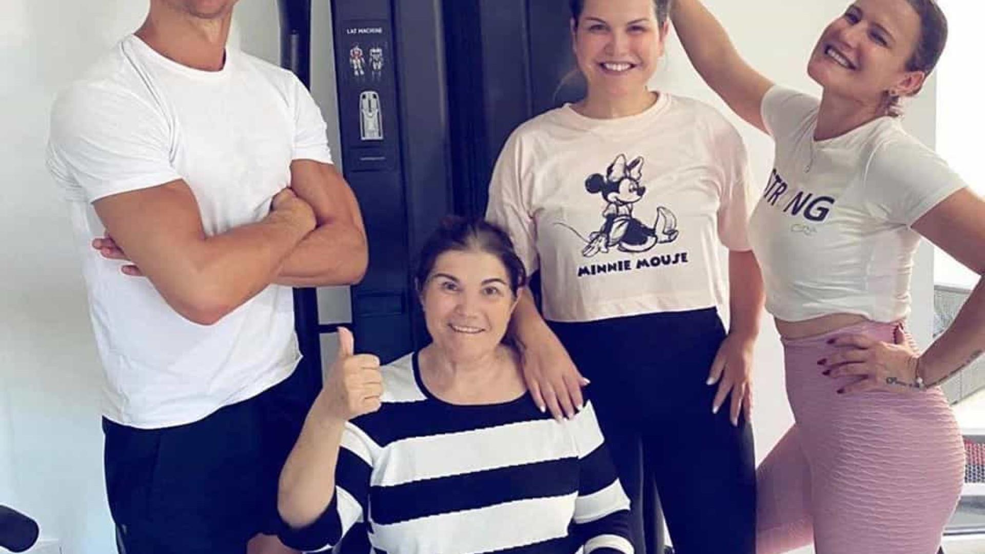 Cristiano Ronaldo fala de recuperação da mãe após AVC e mostra-se grato