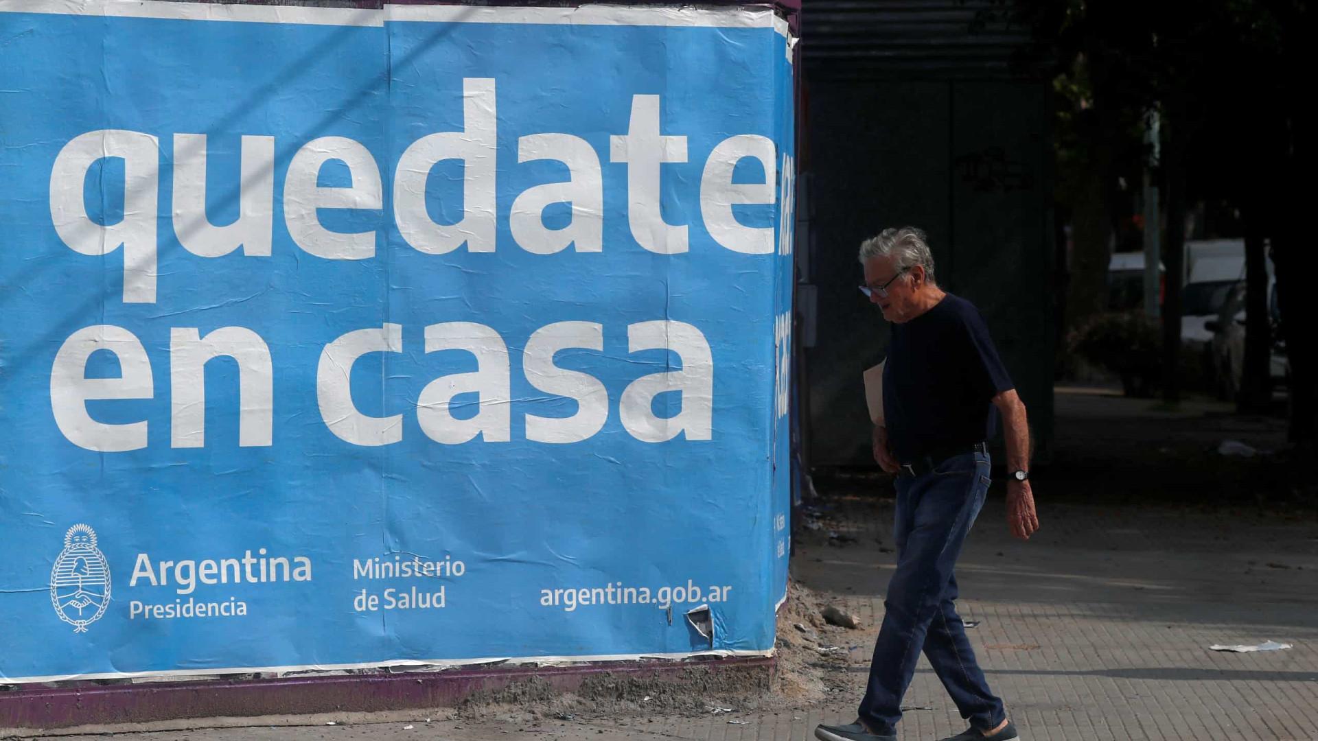 Covid dispara, e Argentina vive risco de colapso na saúde