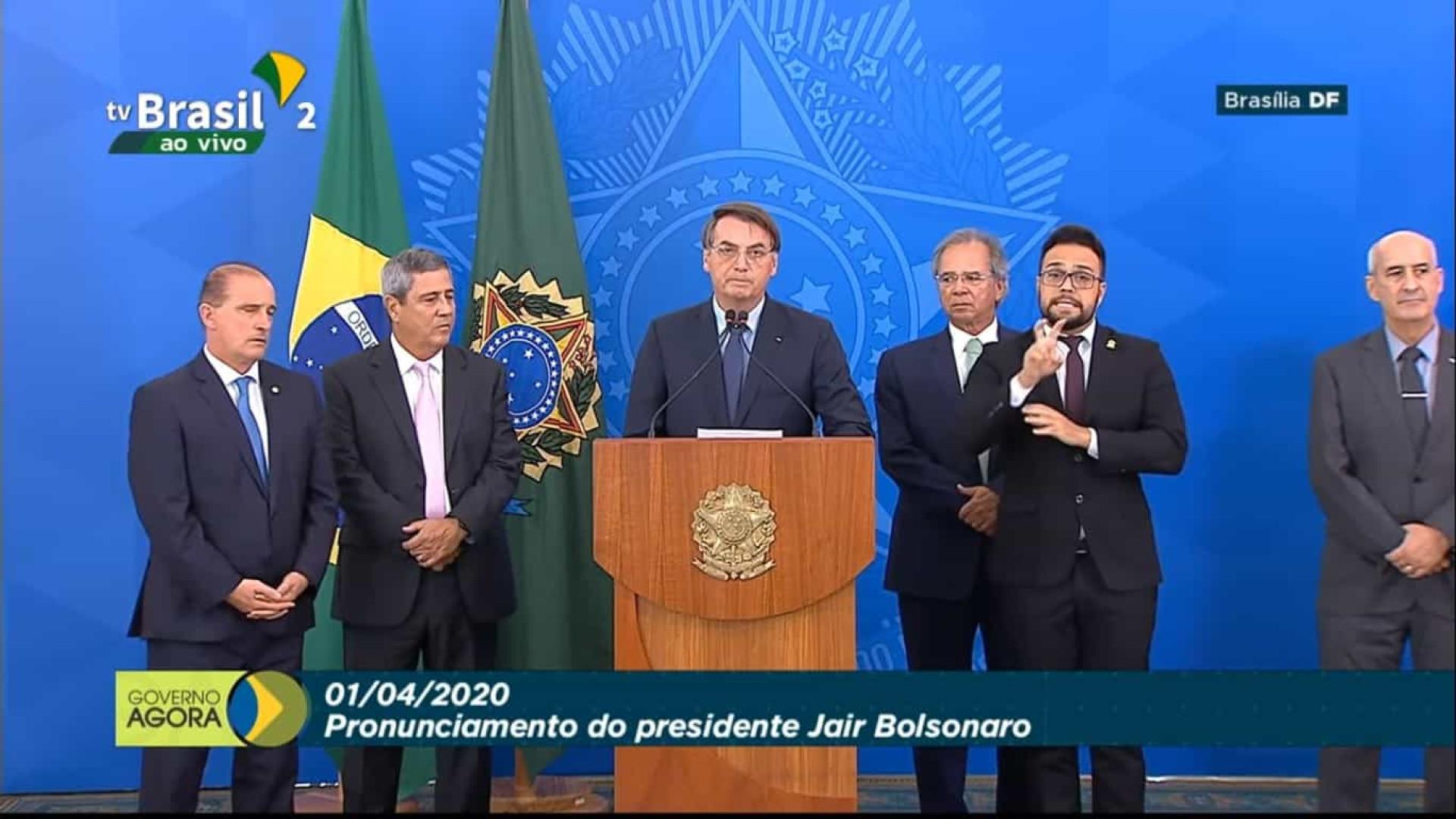Medida para manter empregos serão anunciadas, diz Bolsonaro