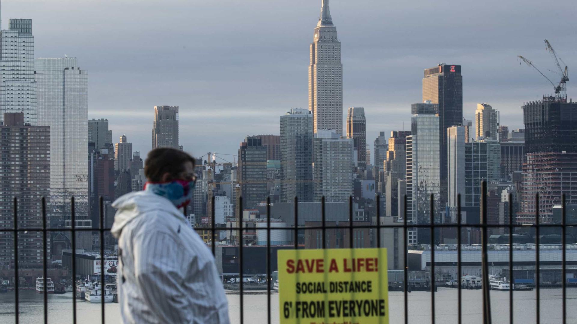 Vítimas mortais podem ser enterradas em parques de Nova York