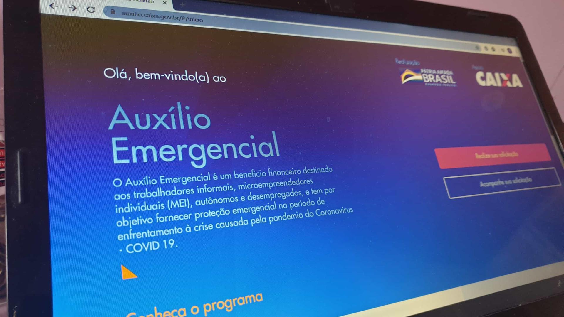 Em dois meses, 107 milhões de brasileiros pediram auxílio emergencial