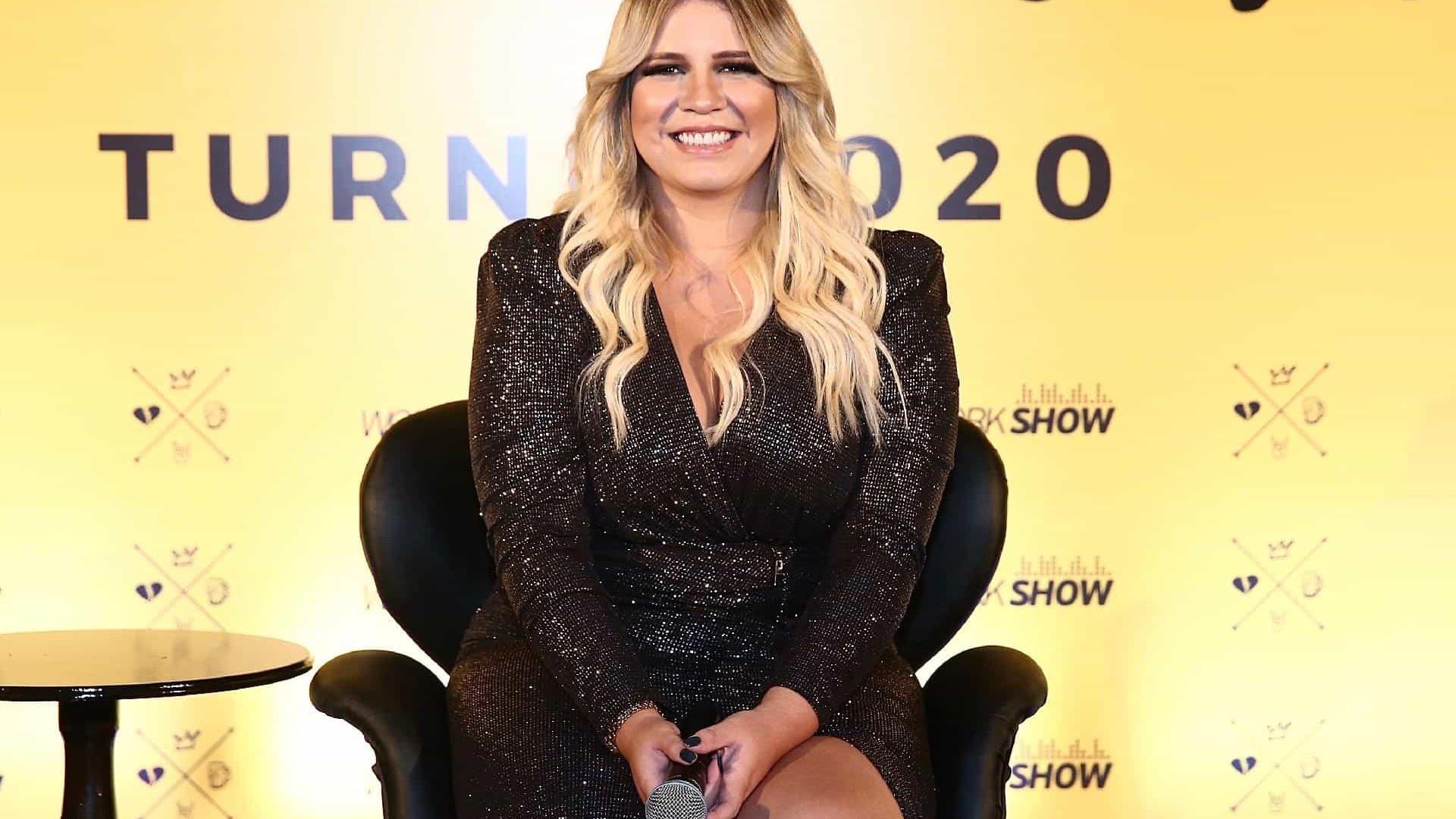 Marília Mendonça diz que tem déficit de atenção nas redes sociais