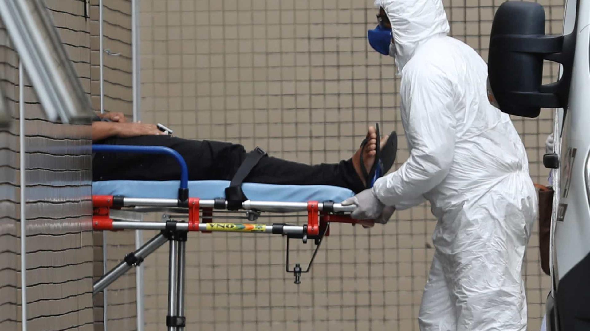 Brasil registra 496 novas mortes por coronavírus em 24 h