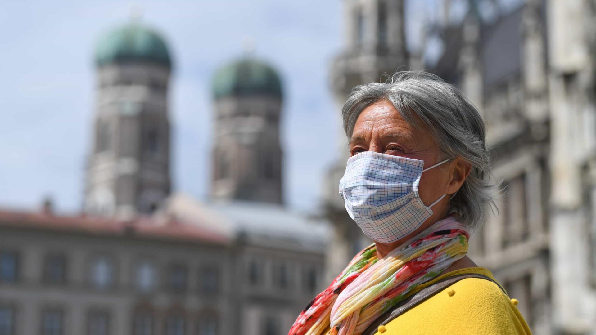 Alemanha registra quase mais 20 mil infectados e 118 mortos pela Covid-19