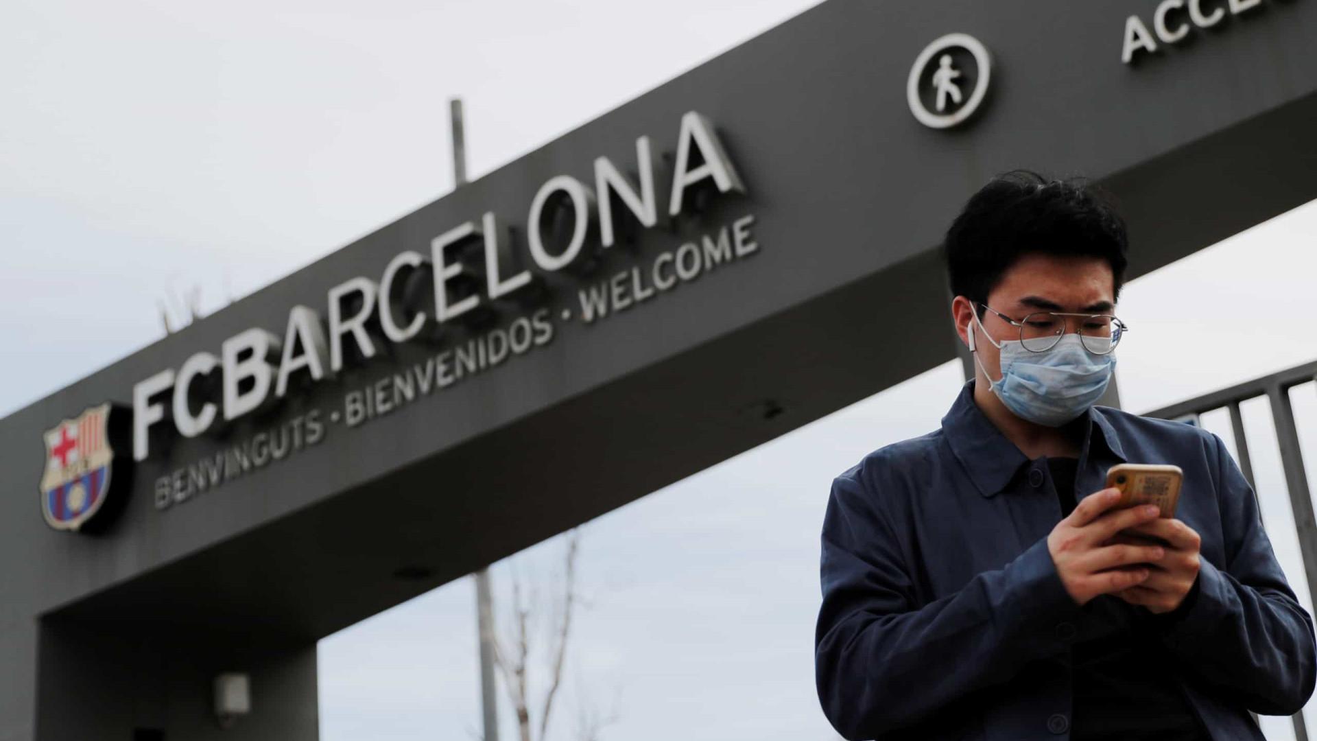 Presidente diz que Barcelona deixou de ganhar 200 milhões de euros