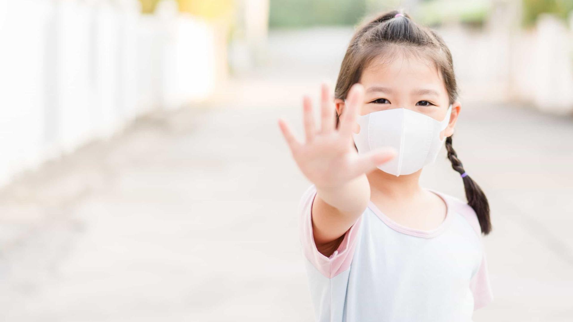 Crianças com menos de 5 anos podem ter níveis mais altos do vírus