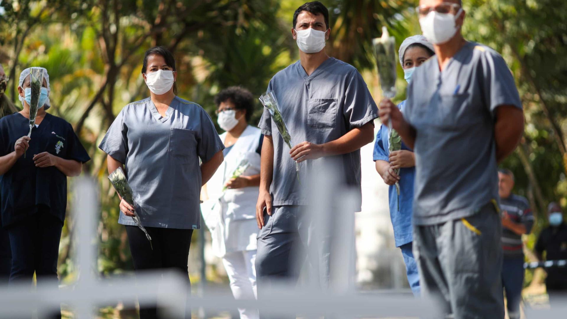 Brasil registra novo recorde diário com 2.841 mortes por Covid-19 em 24h