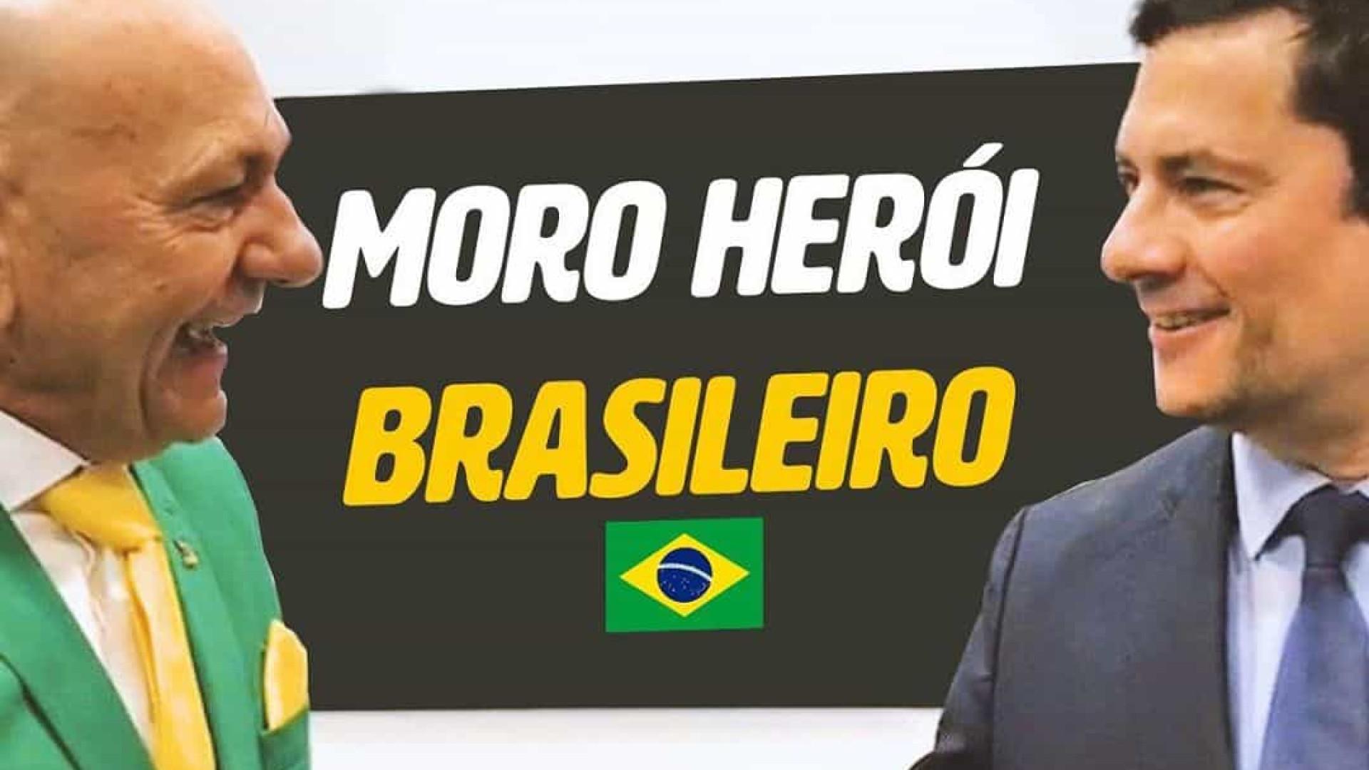 Bolsonarista, empresário Luciano Hang manifesta apoio a Moro