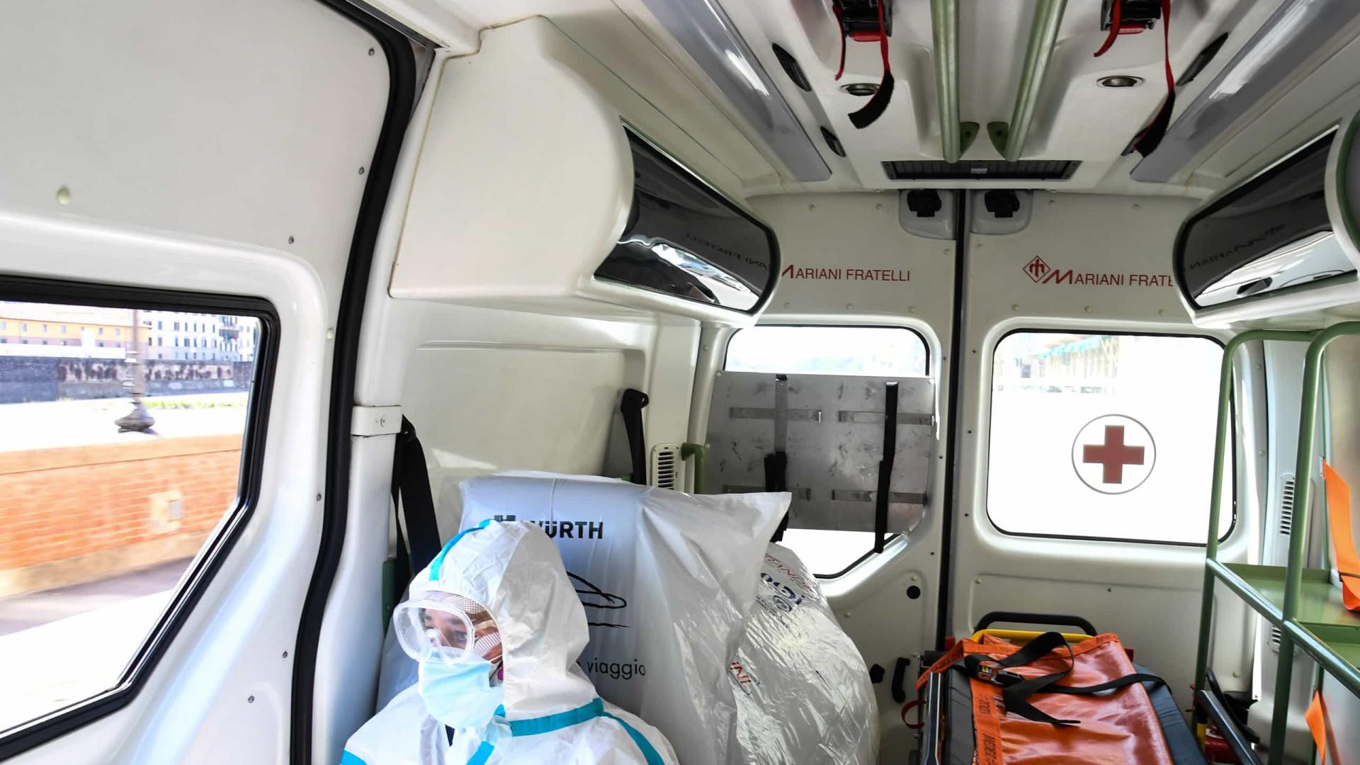 Itália registra 13.314 novos casos e mais 356 mortos