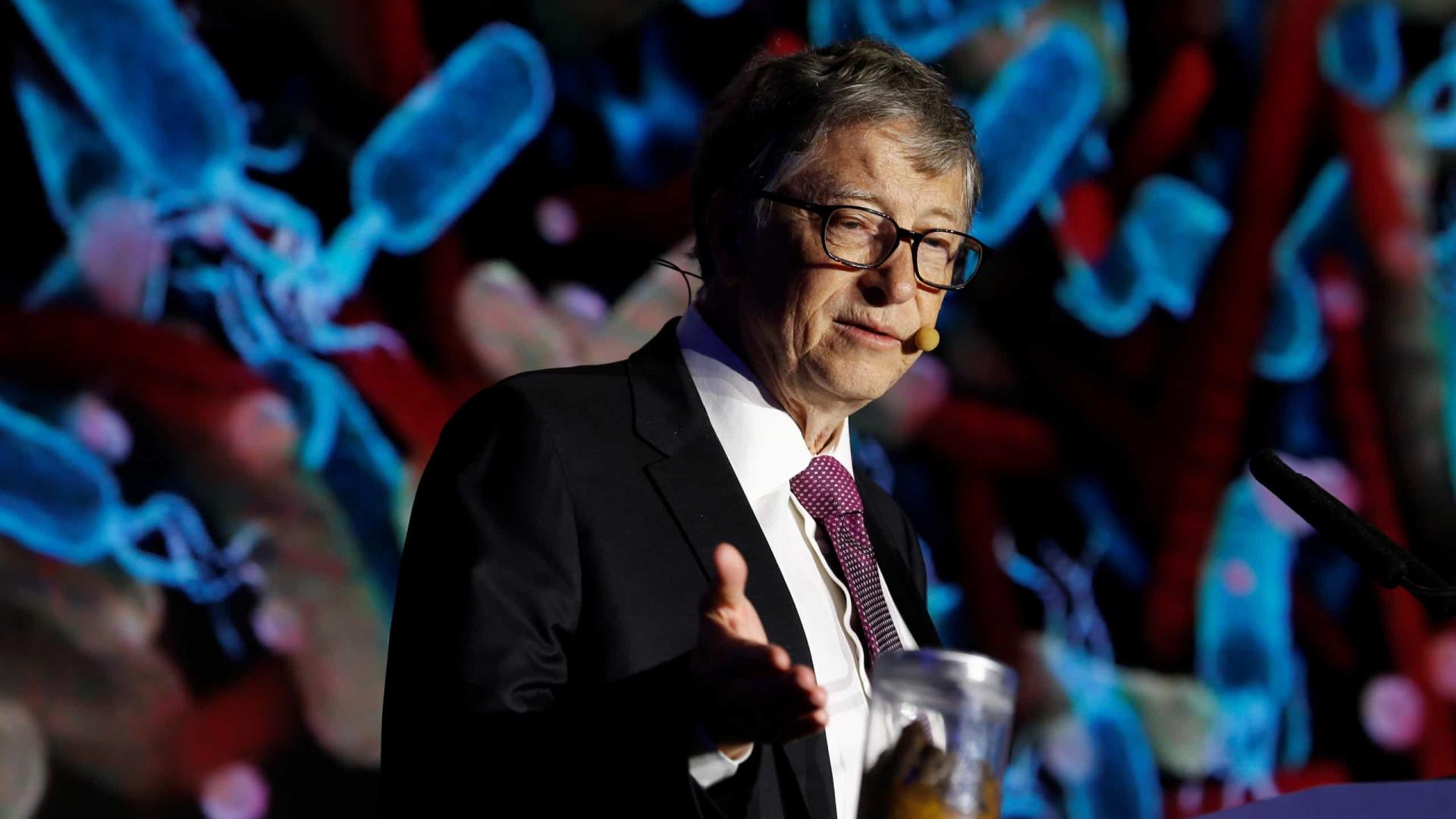 Bill Gates vai doar (mais) R$ 1,3 bilhão para combater a Covid-19