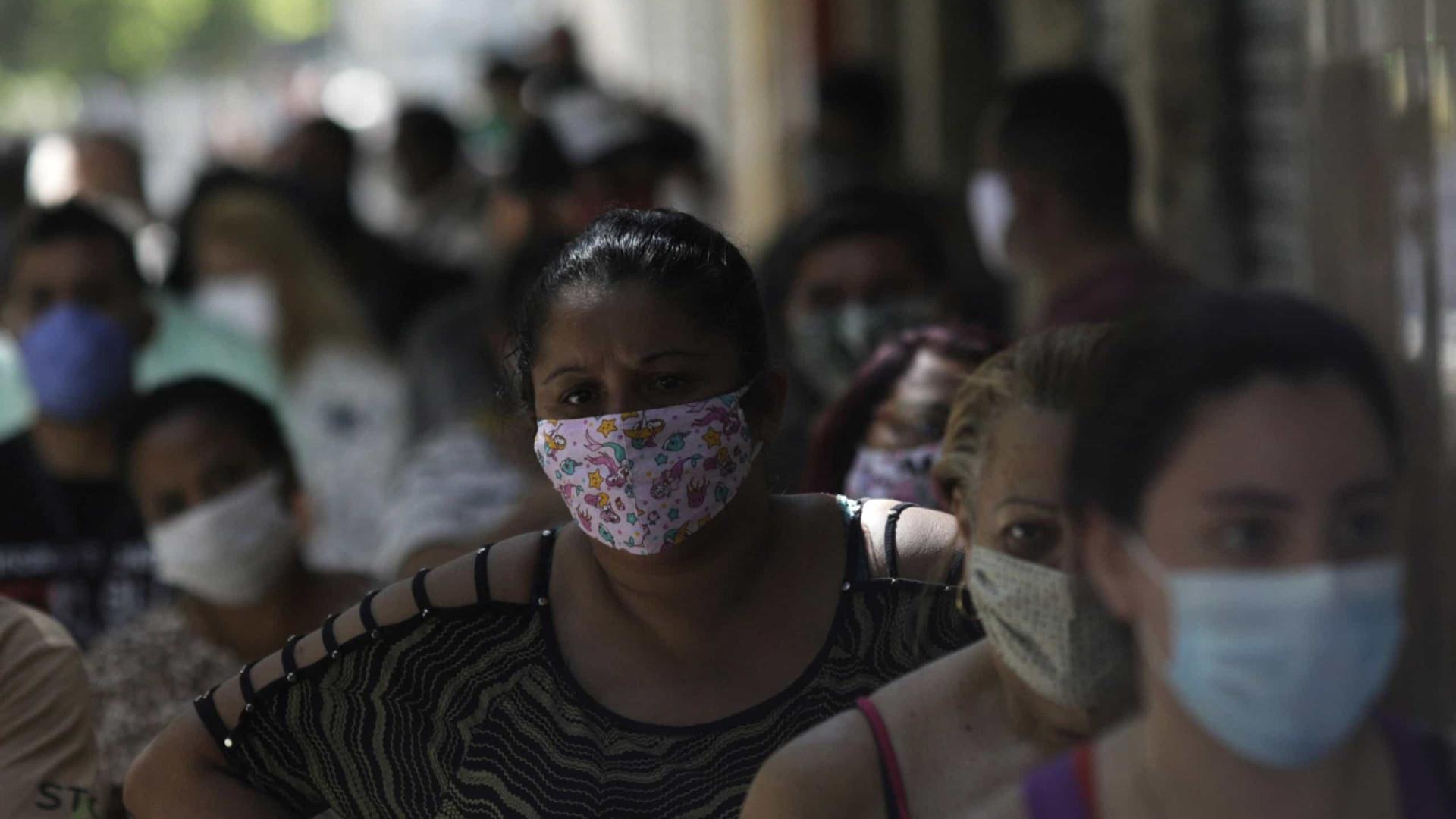 Cai taxa de isolamento social na cidade do Rio de Janeiro