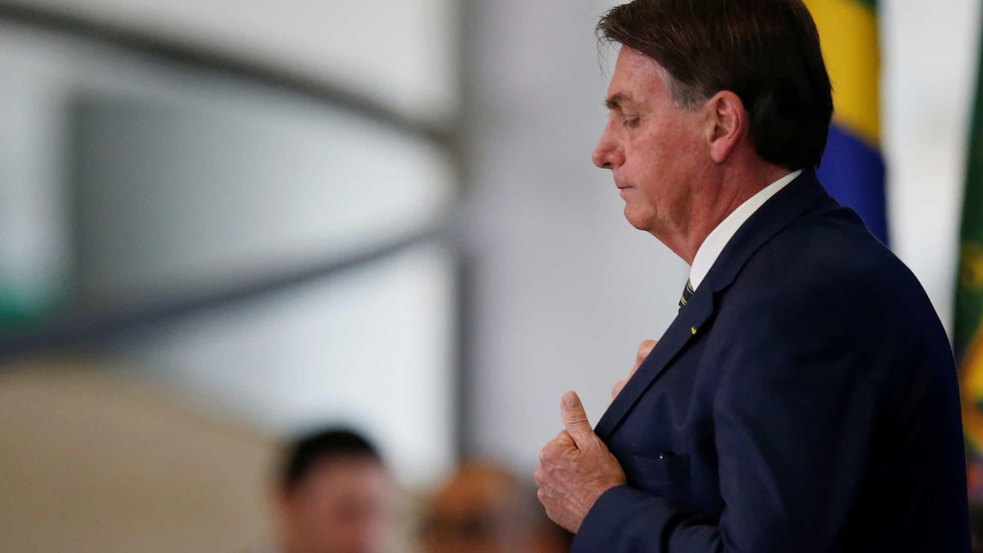 Bolsonaro: Qual ponto na fita que interfiro na PF?