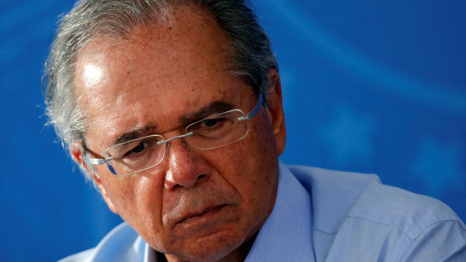 Guedes diz que as projeções do PIB brasileiro pelo FMI estarão erradas