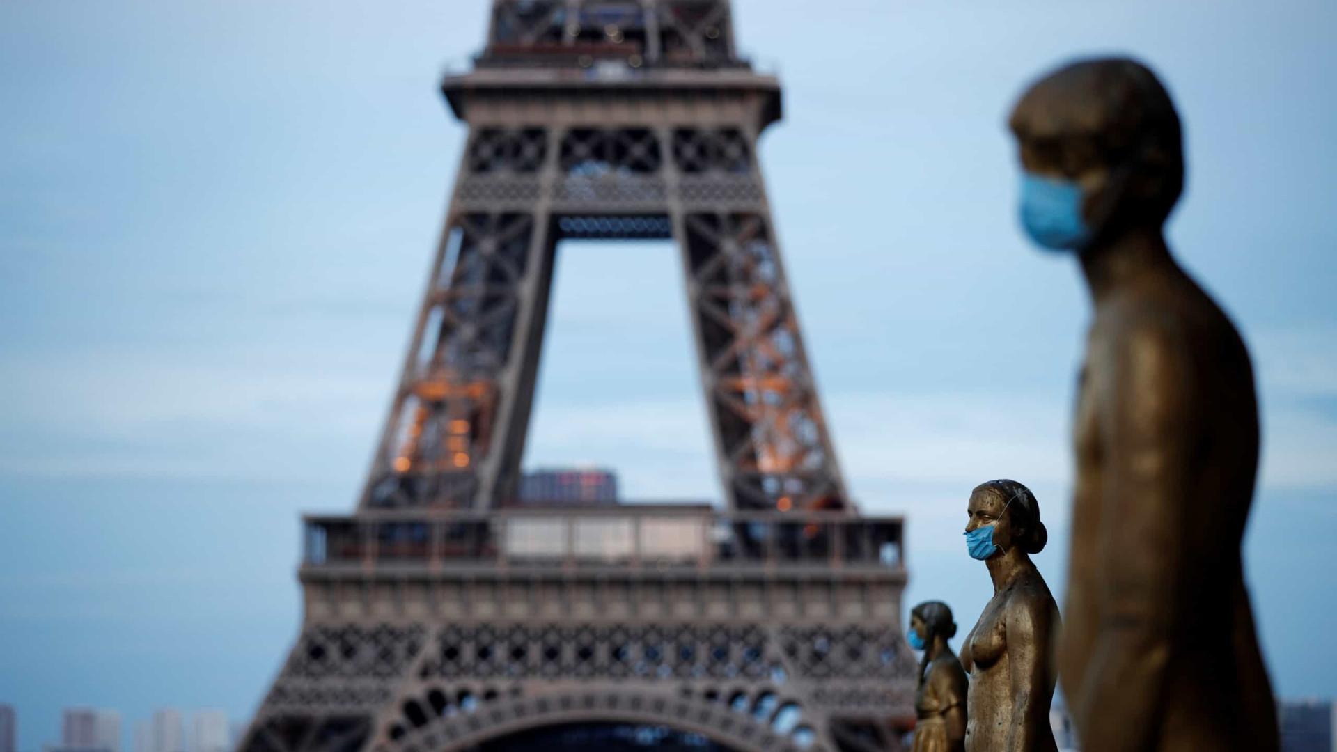 Covid-19: França ultrapassa barreira dos 28 mil mortos