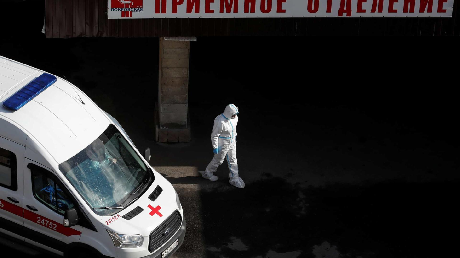 Três médicos caíram, sem explicação, de janelas de hospitais na Rússia