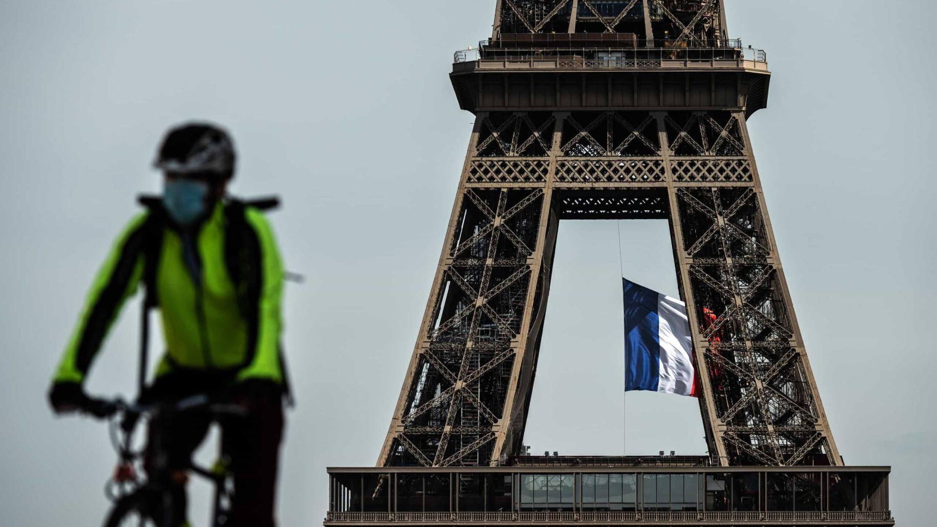 França ultrapassa os 280 mil casos de infecção com 29 mortes em 24h