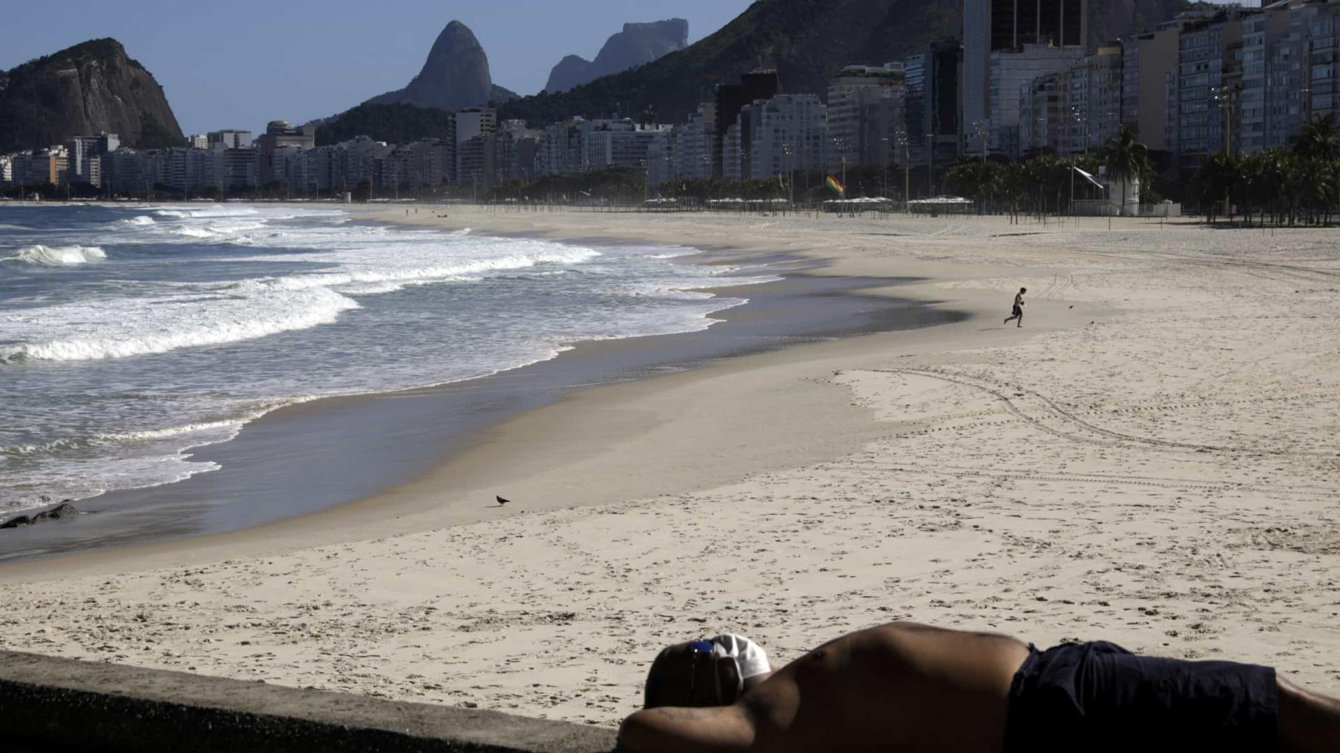 Rio tem mais 1.500 casos e 245 mortes por covid-19 em 24hs