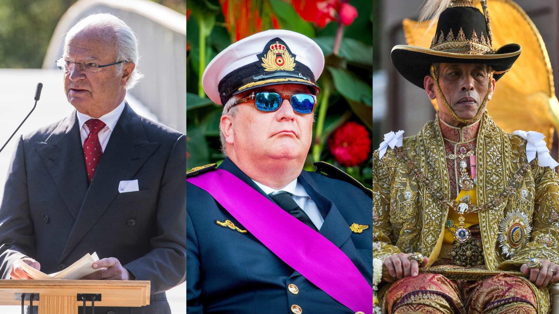 Os maiores escândalos do mundo da realeza