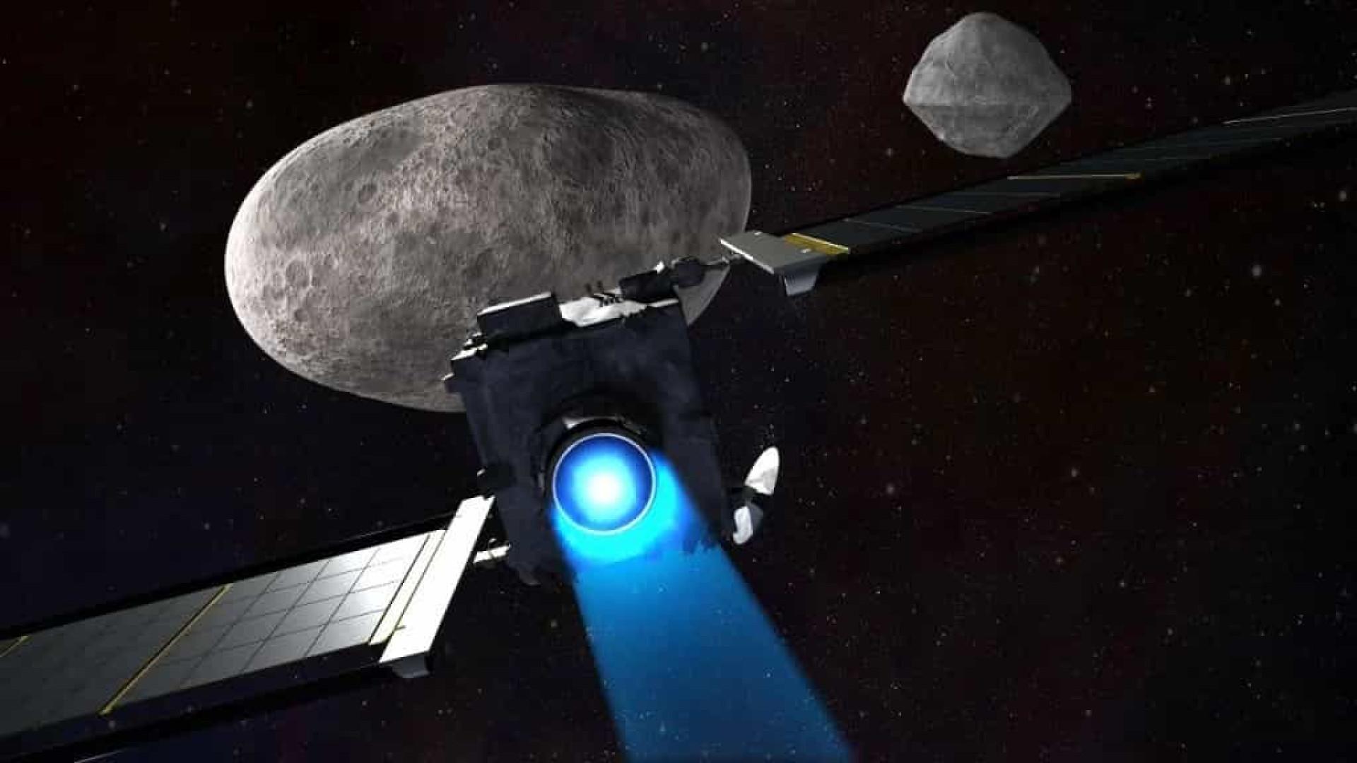 Colisão com asteroide pode criar chuva de meteoros artificial