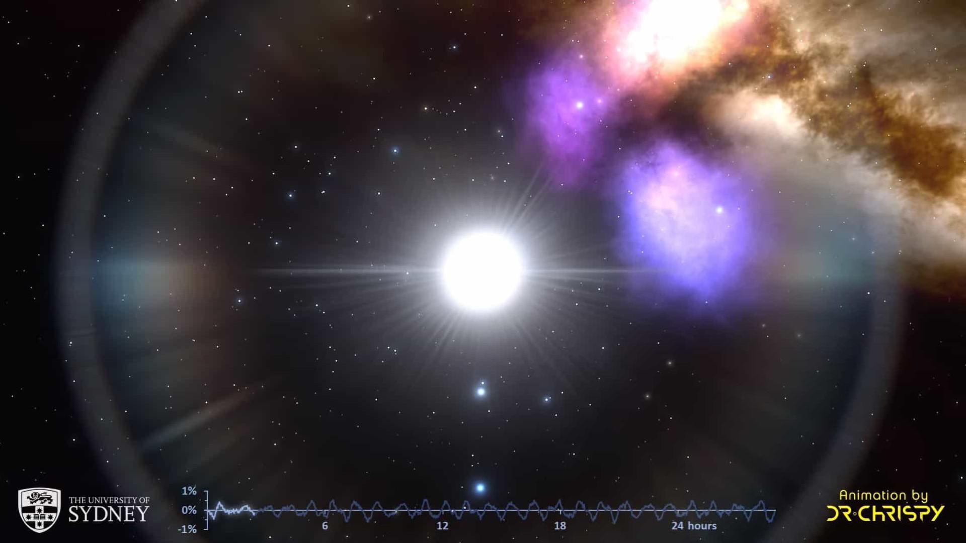 Pesquisadores detectam ritmo nas 'pulsações' de estrelas