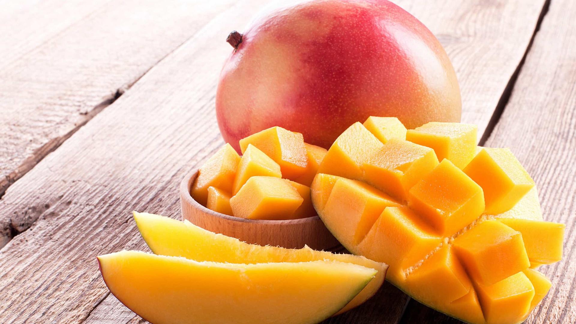 Rainha das frutas: Quatro benefícios de comer manga