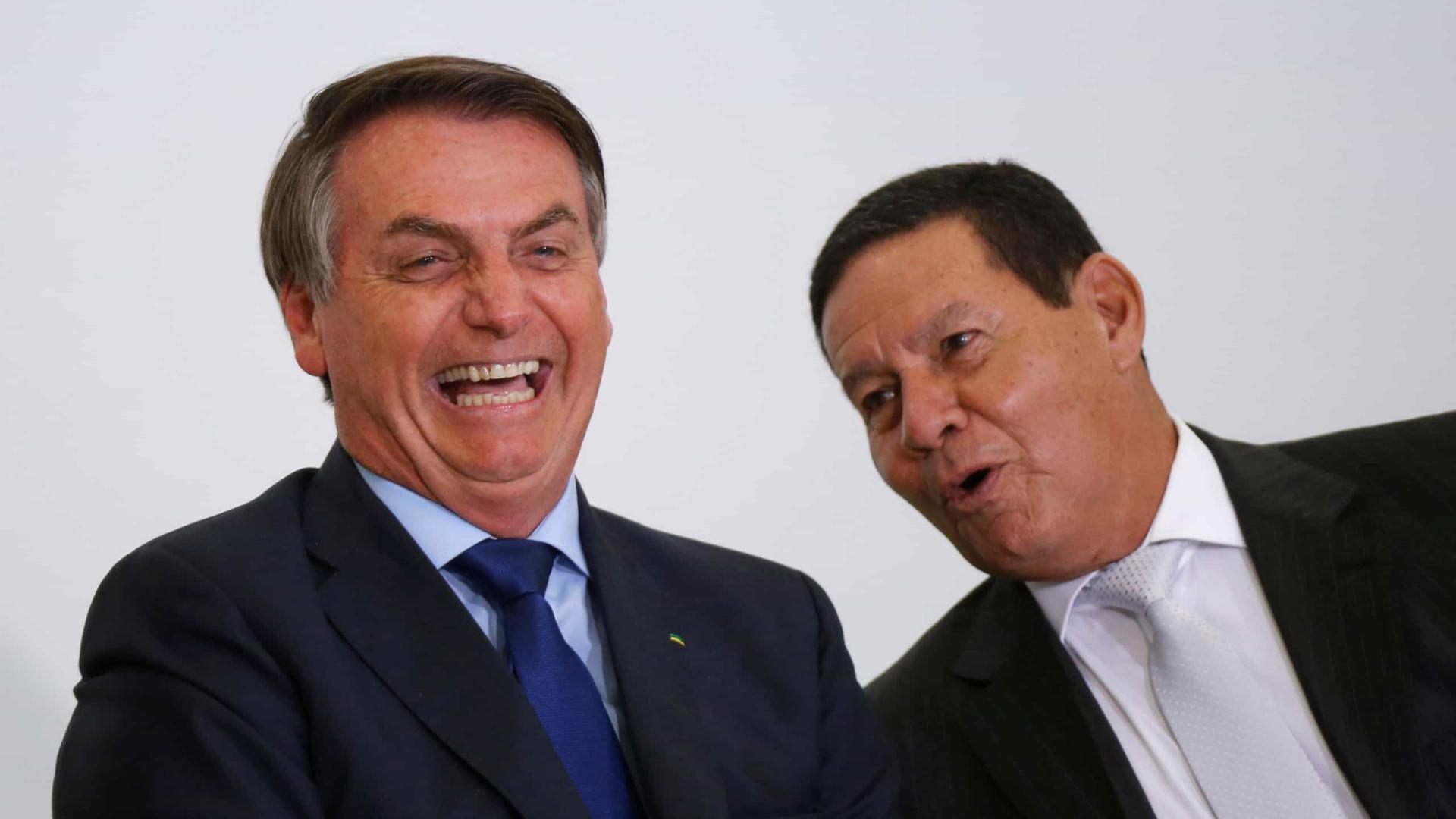 Bolsonaro: Vice bom é aquele que não aparece