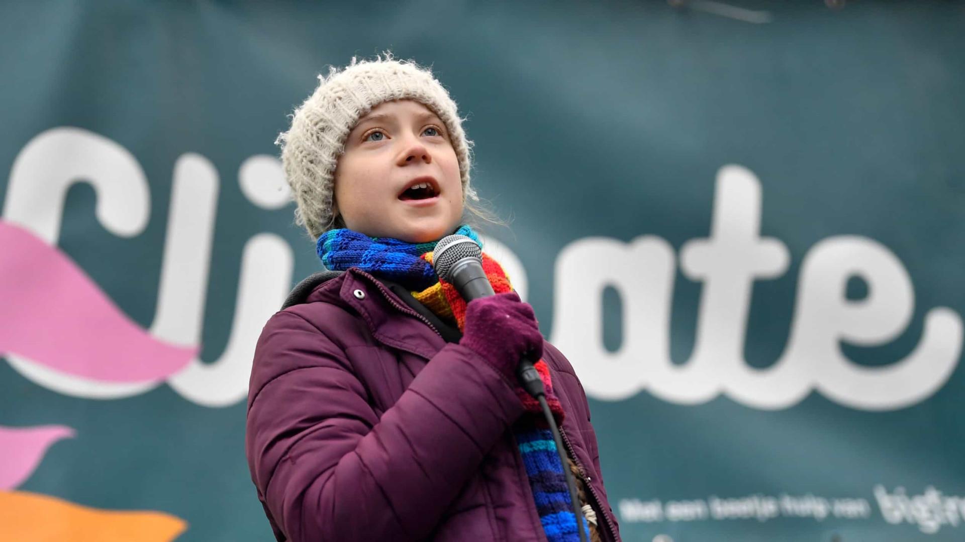 Greta Thunberg faz apelo para combate à covid-19 no Amazonas