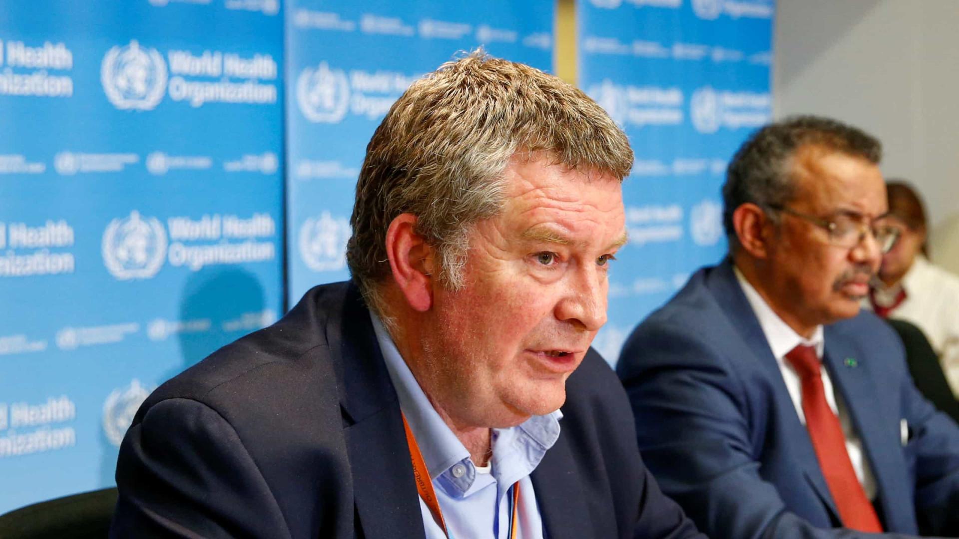 'É preciso haver coesão' diz diretor da OMS sobre saída de Teich