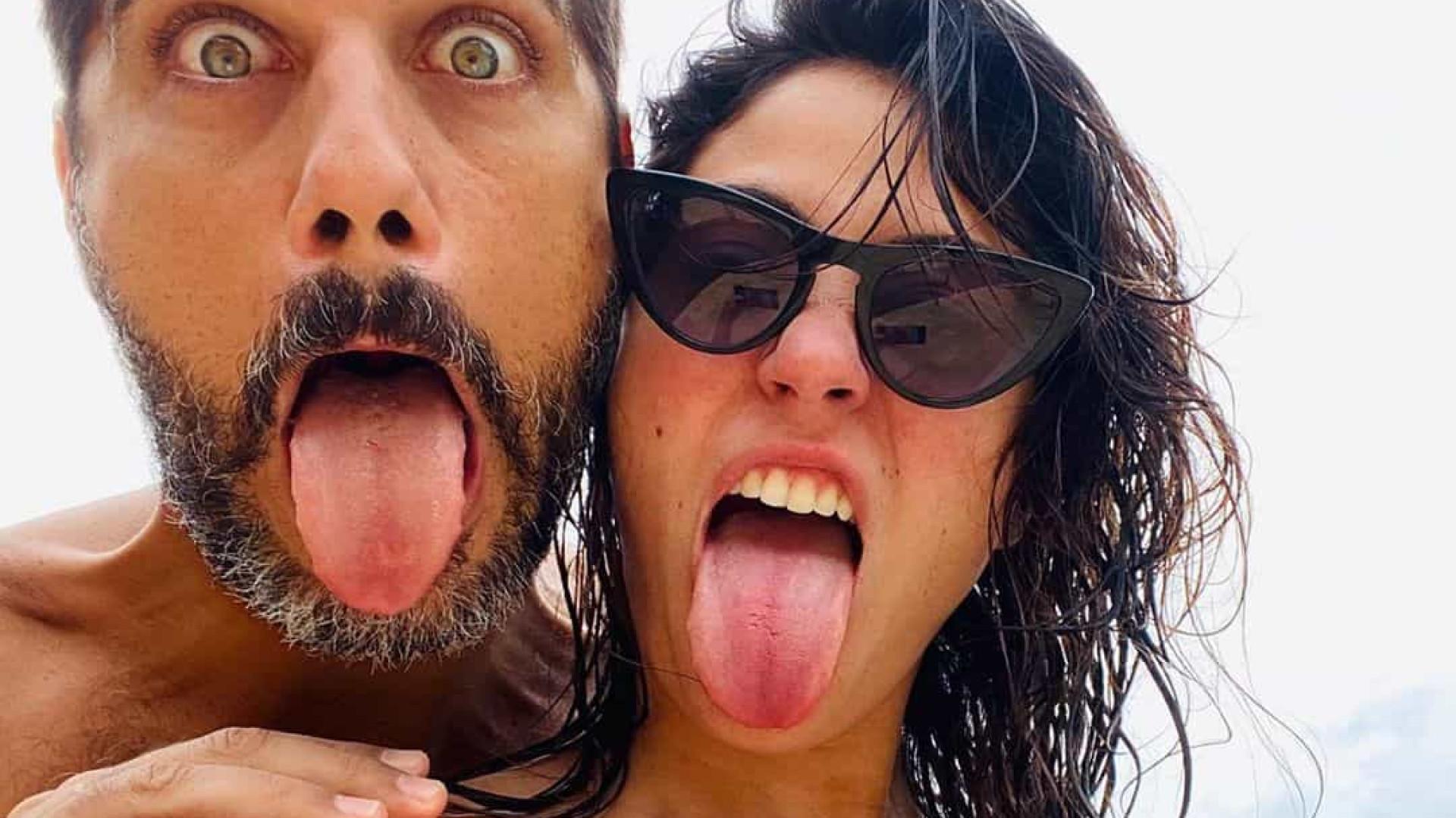 Bruno Cabrerizo celebra meio ano de namoro e homenageia namorada