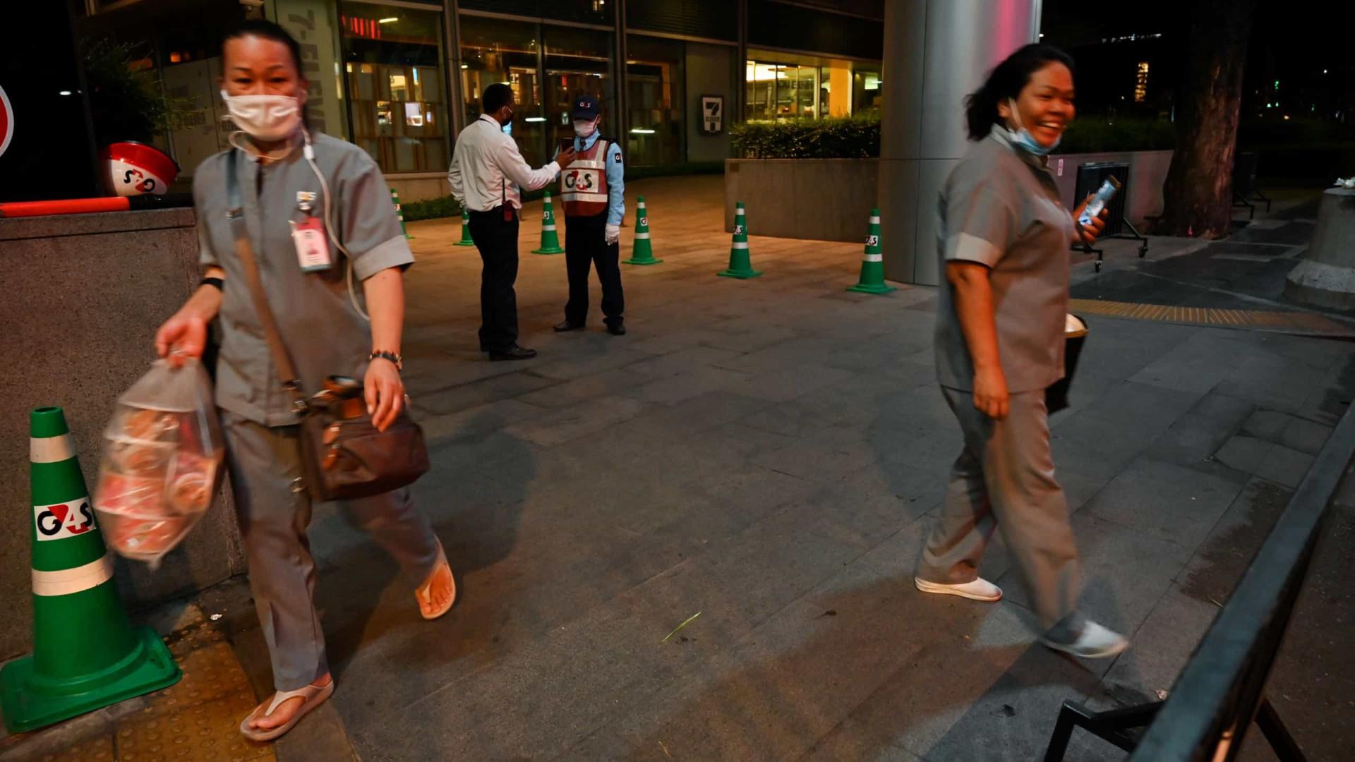 Tailândia retira China e Coreia do Sul de lista de zonas infectadas
