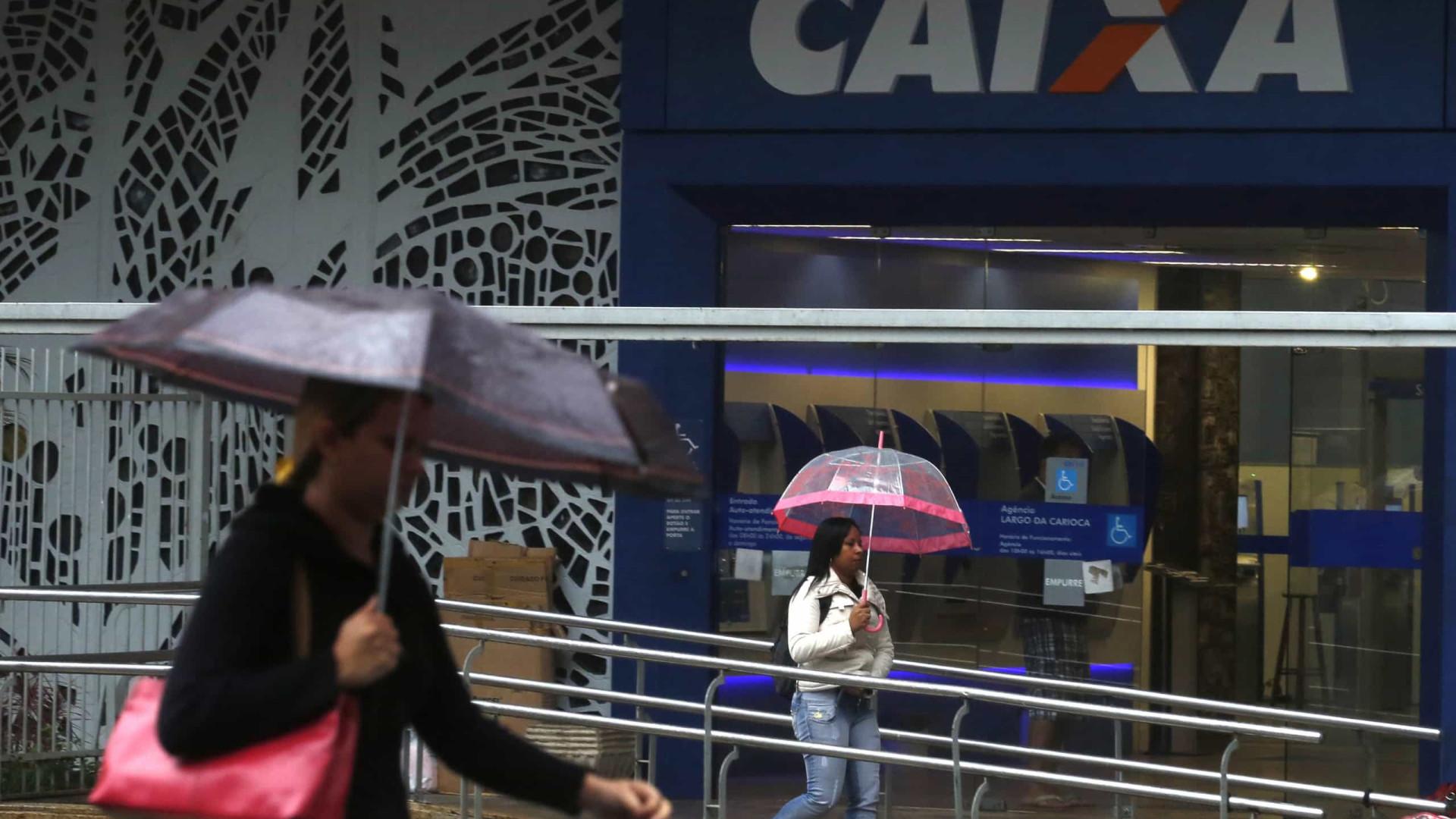 Caixa registra queda de 22,2% em lucro no primeiro trimestre