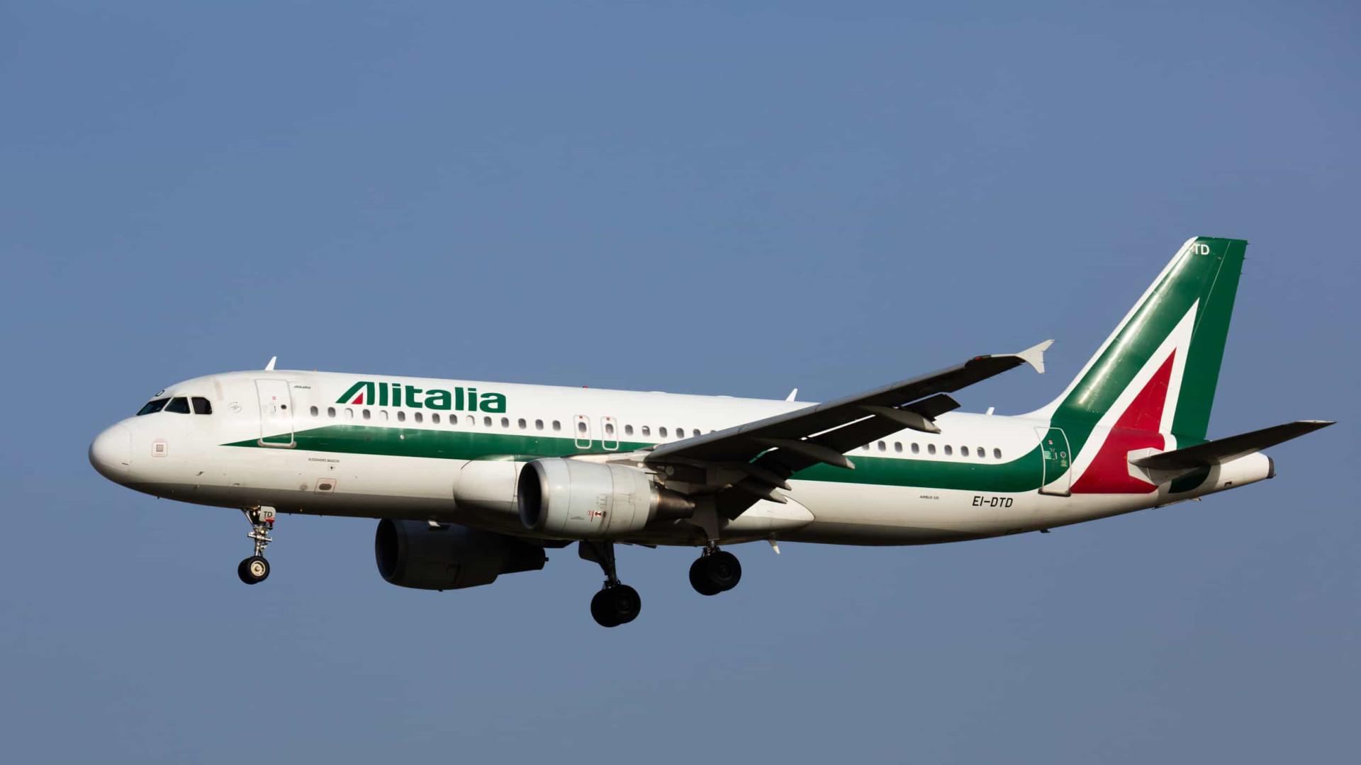 Alitalia vai retomar os voos e operar 36% a mais em junho ante maio