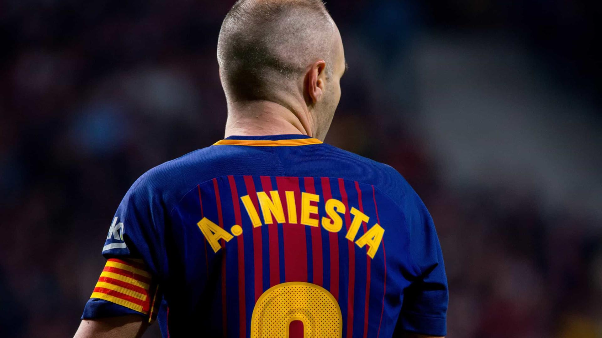 Iniesta fala sobre Messi nunca ter vencido uma Copa do Mundo