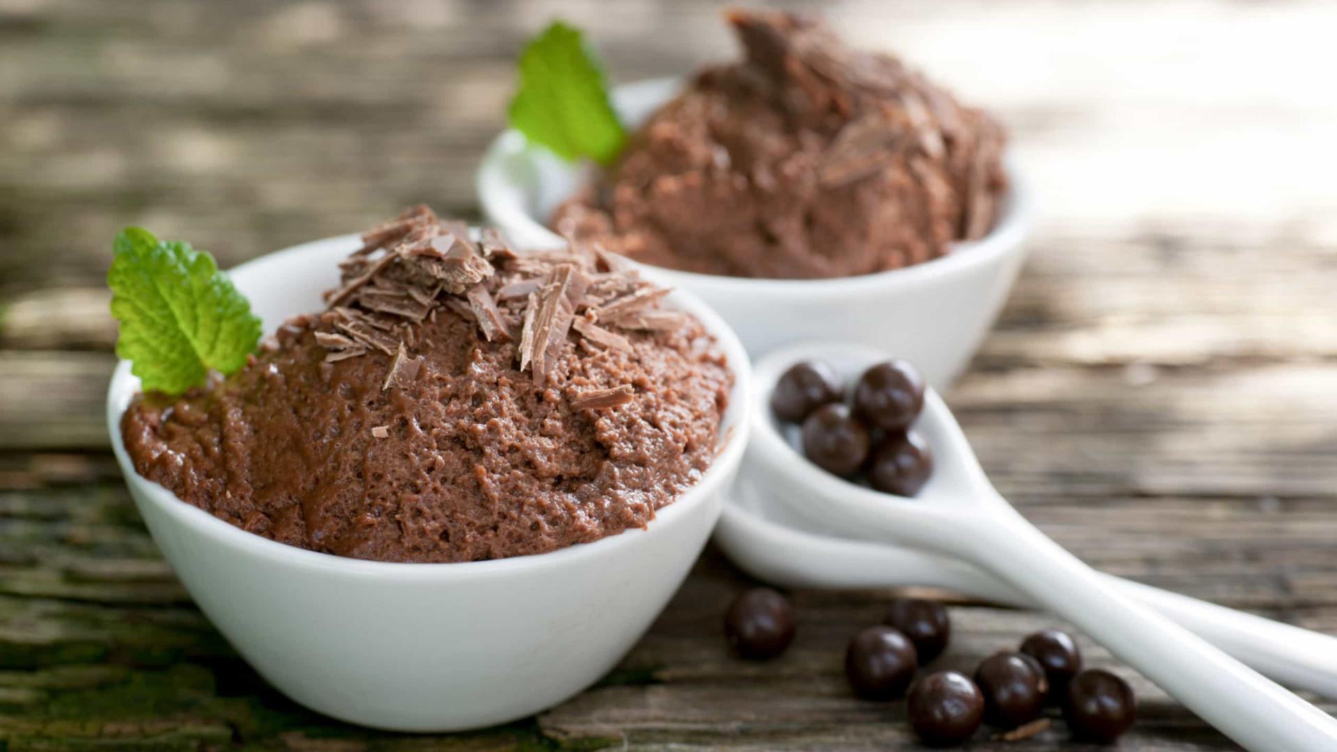 Mousse de Chocolate agrada todo mundo; veja como preparar