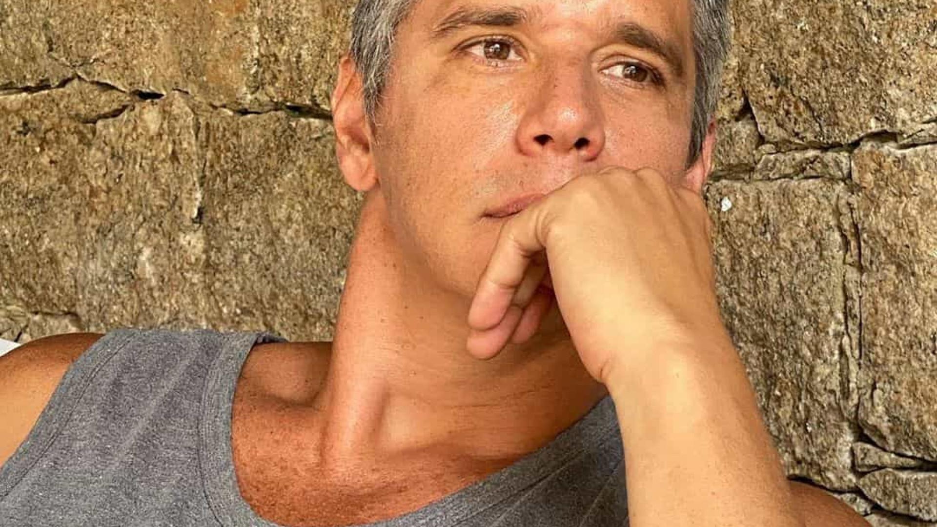 Márcio Garcia diz que evita pensar em mudanças e que vive o presente