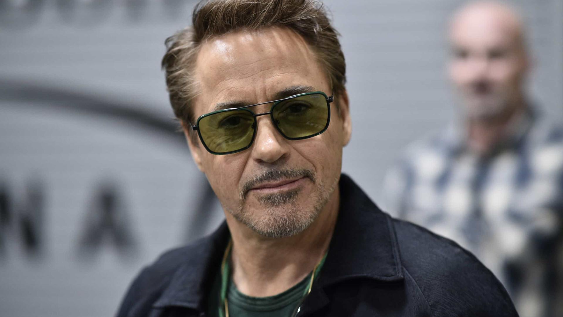 Ator diz que viu Robert Downey Jr. na prisão e que doou cama para ele