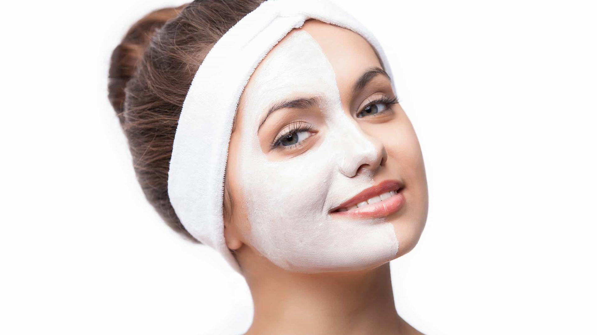 Máscara caseira para acabar com a acne e hidratar o rosto