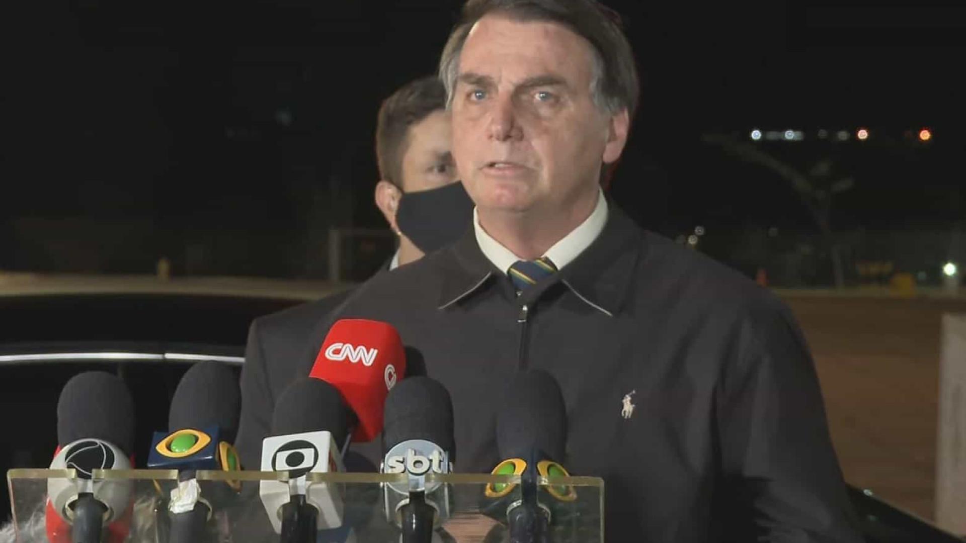 Moro sabia das regras do jogo, diz Bolsonaro