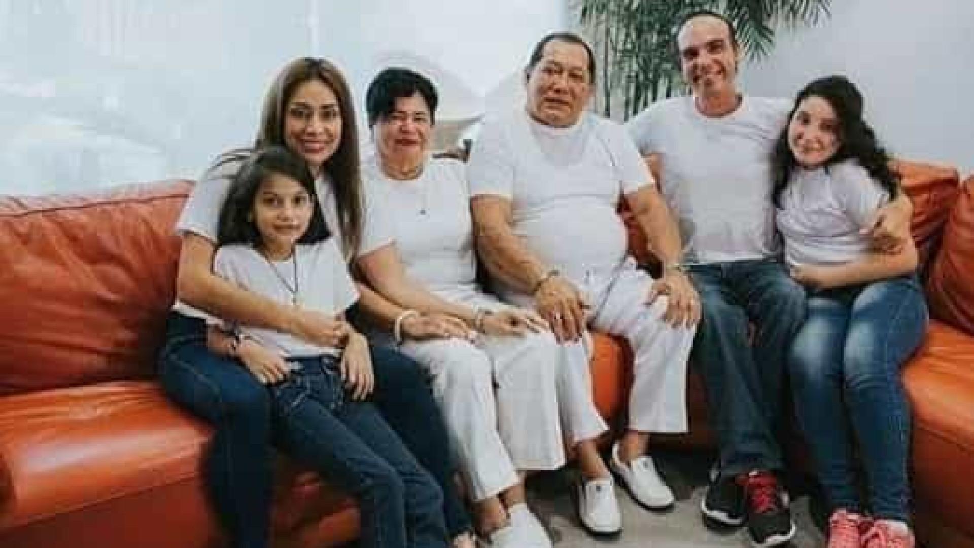 Equatoriana vive pesadelo. Perdeu pais, marido e irmão com Covid