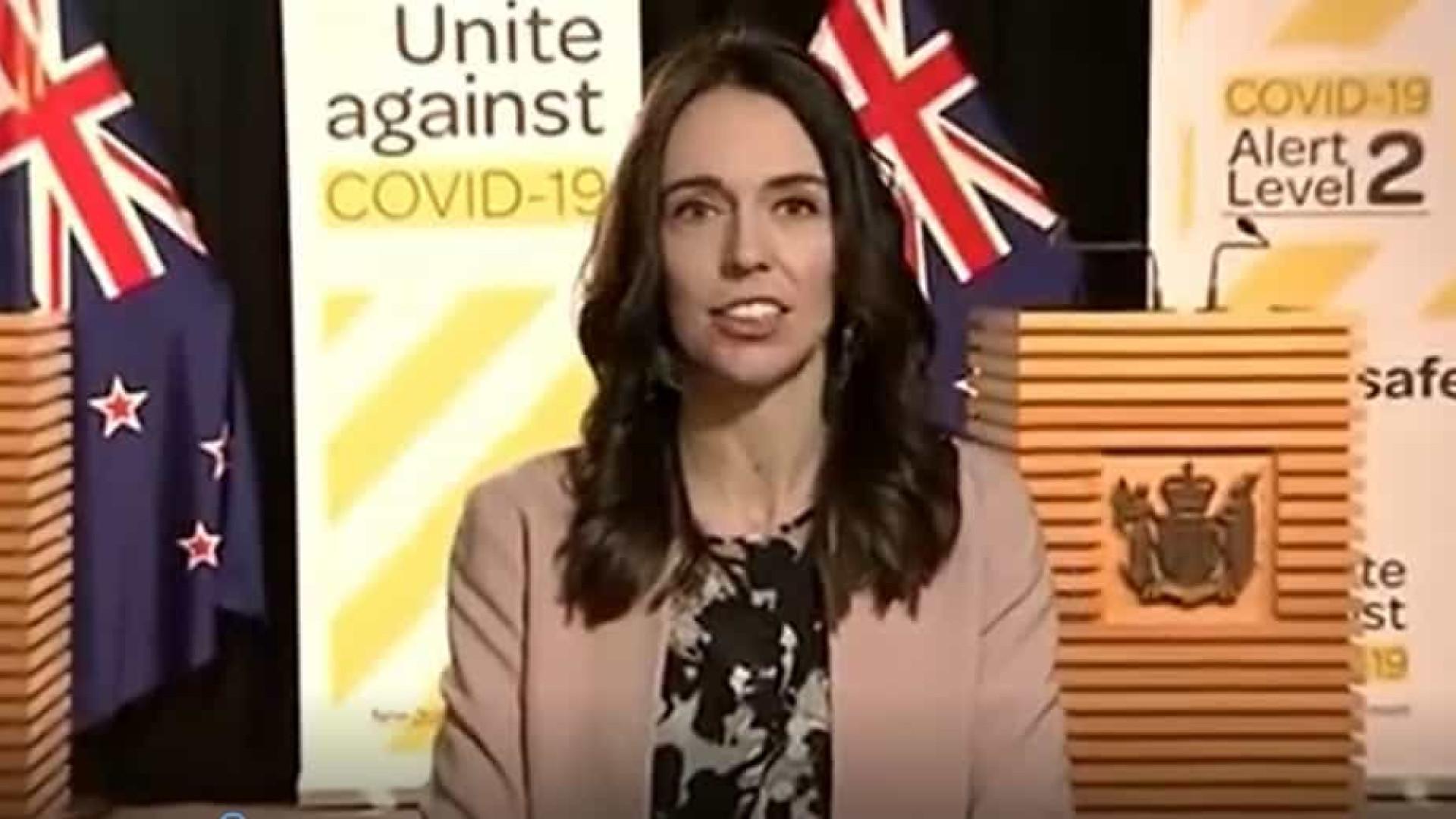 Terremoto surpreende premiê da Nova Zelândia durante entrevista