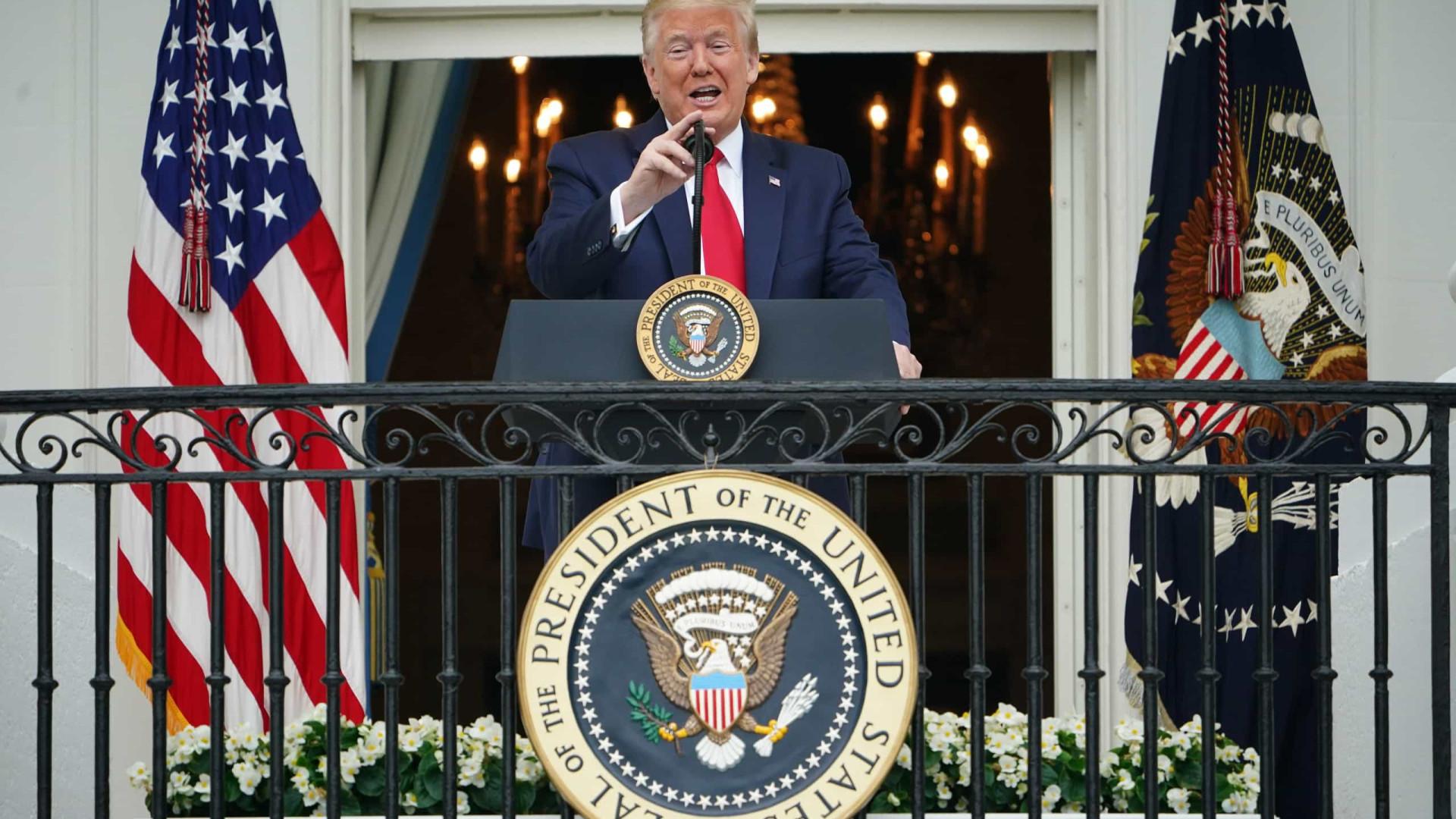 Trump afirma que parou de tomar hidroxicloroquina