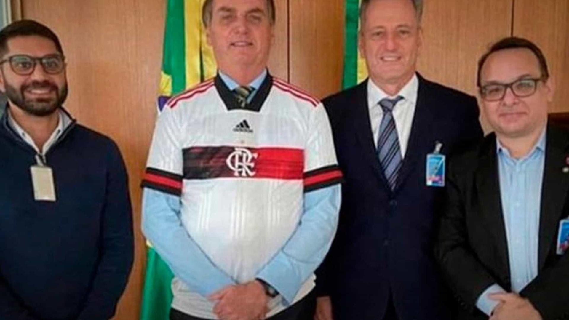 Presidente do Fla defende encontro com Bolsonaro e critica intolerância